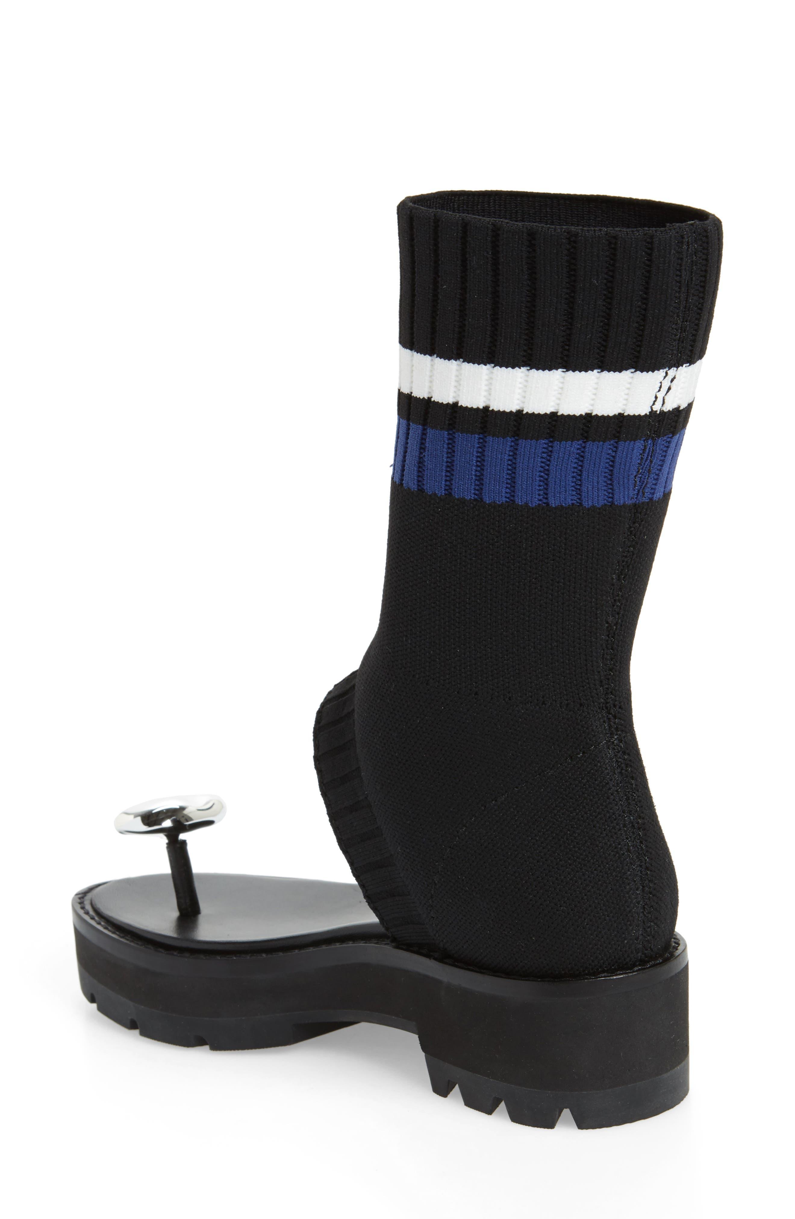 Cat Sock Shaft Sandal,                             Alternate thumbnail 2, color,                             001