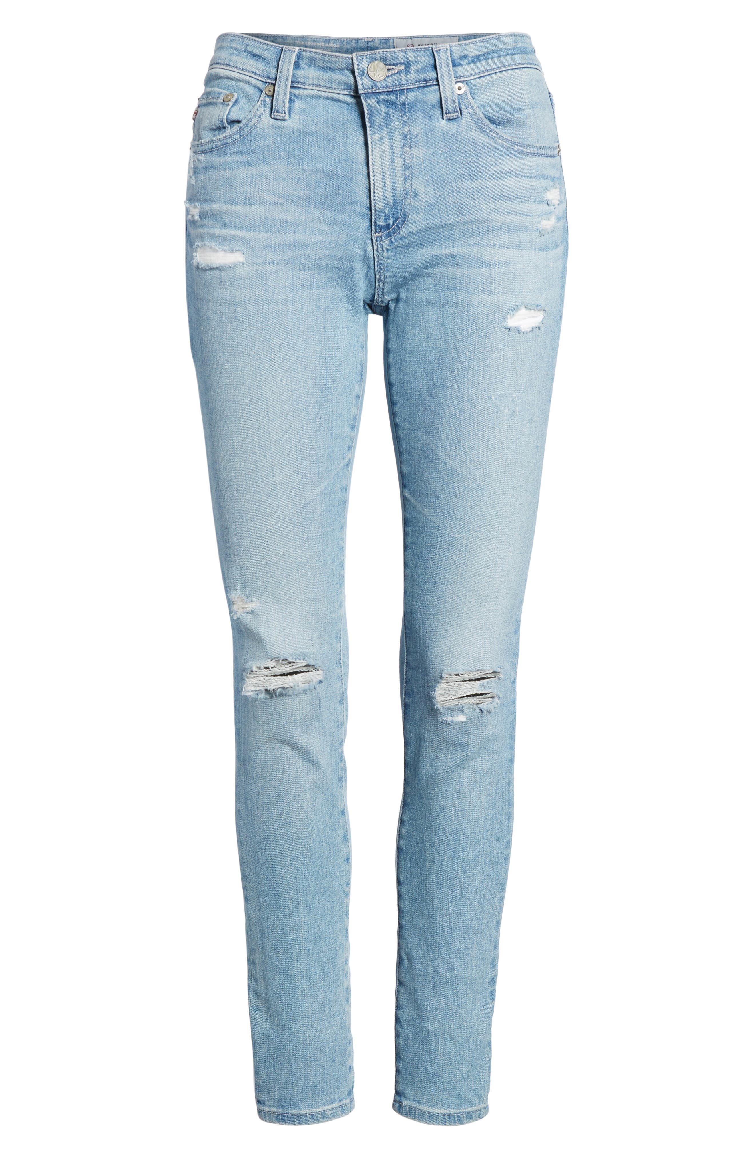 The Legging Ankle Super Skinny Jeans,                             Alternate thumbnail 80, color,