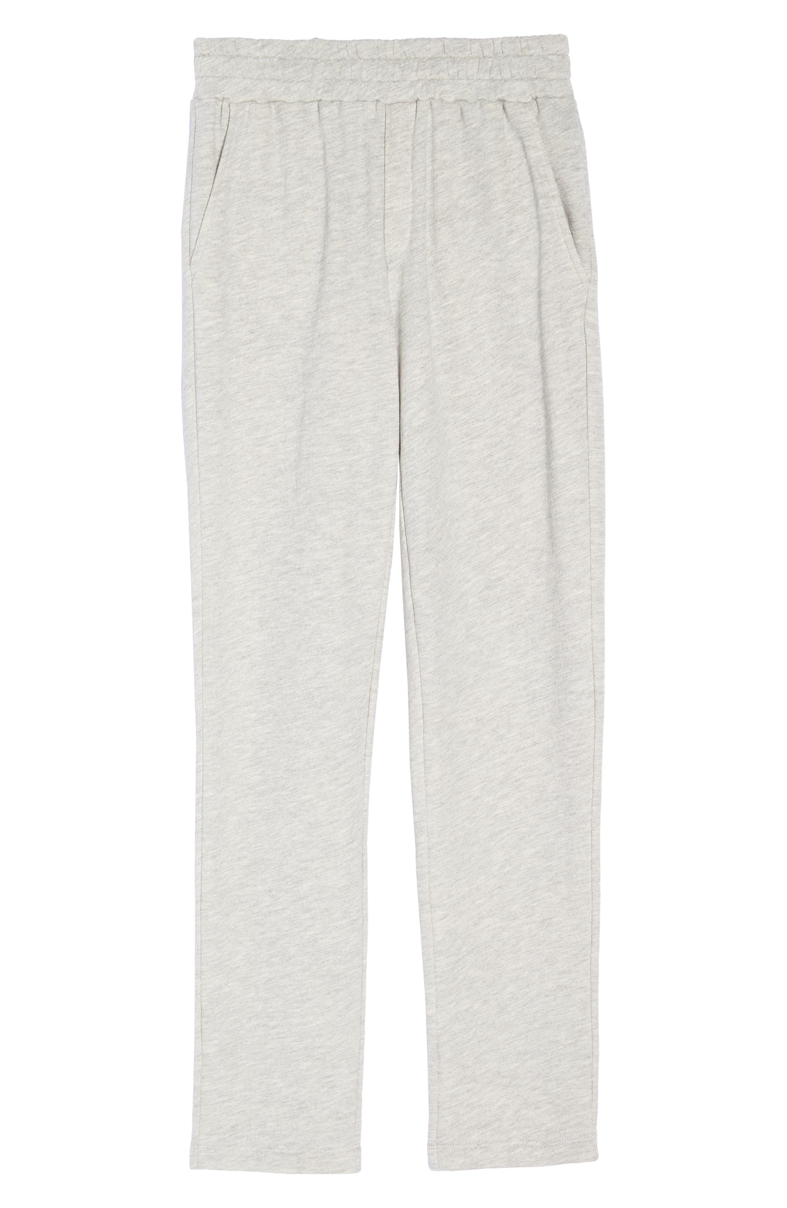 Terry Pajama Pants,                             Alternate thumbnail 6, color,                             028