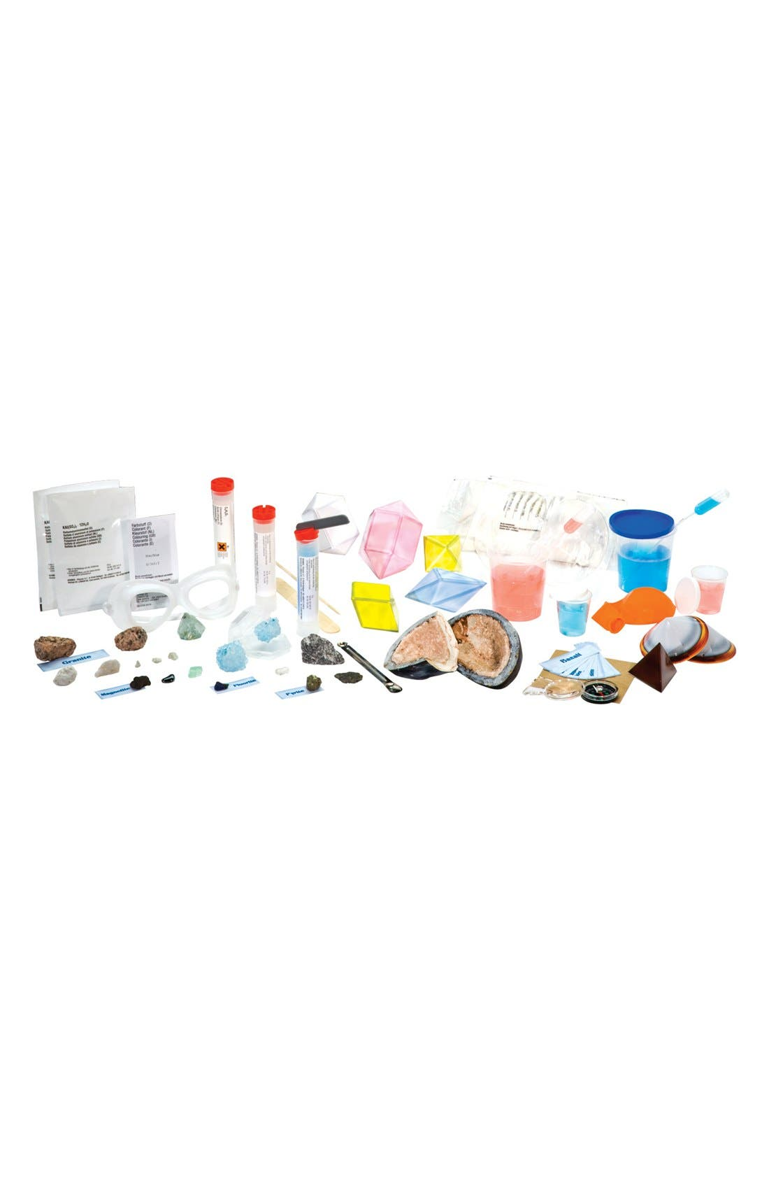 Crystal, Rocks & Minerals Experiment Kit,                             Alternate thumbnail 3, color,                             000