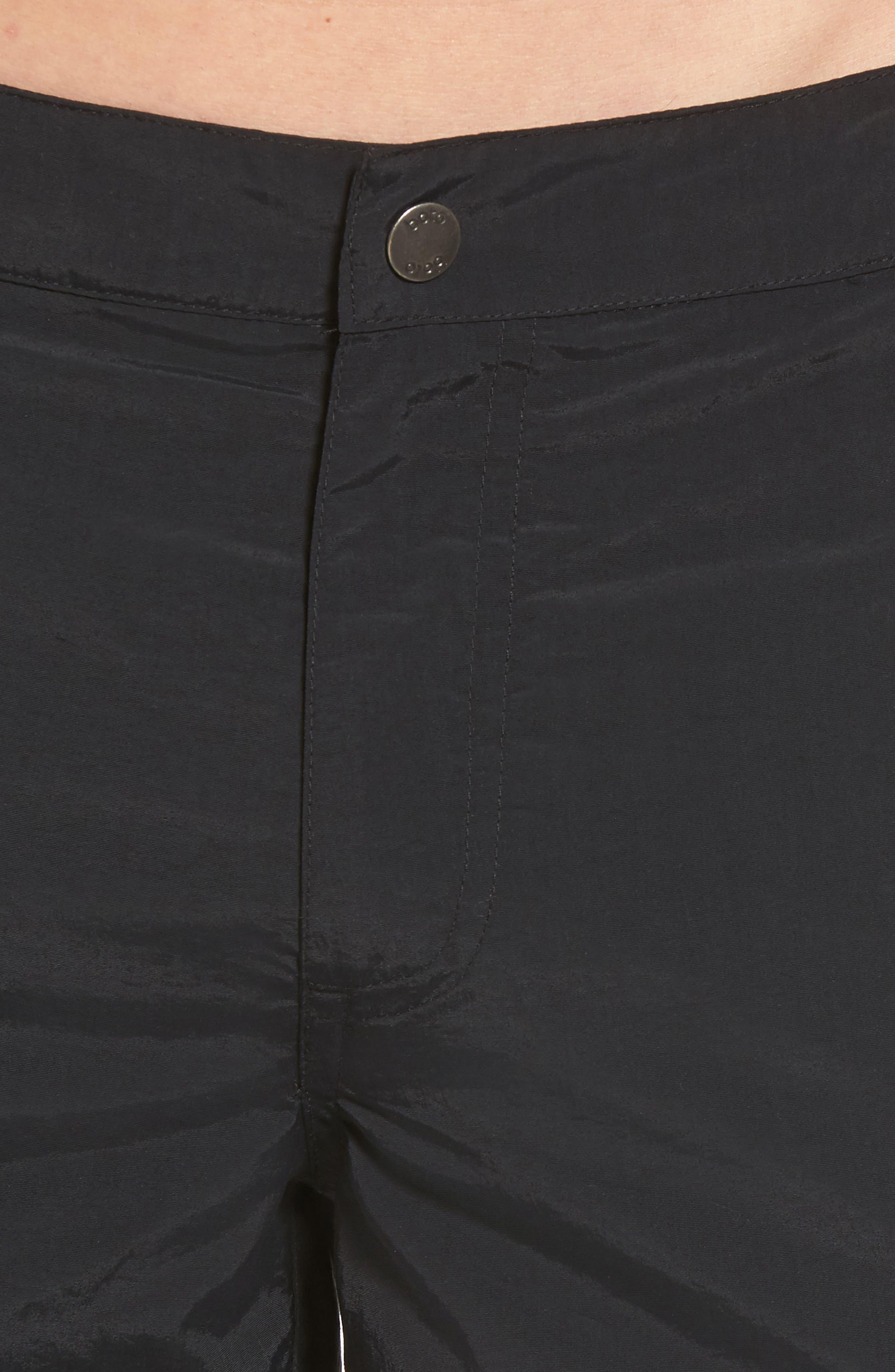 'Aruba - Island' Tailored Fit 8.5 Inch Board Shorts,                             Alternate thumbnail 4, color,                             001