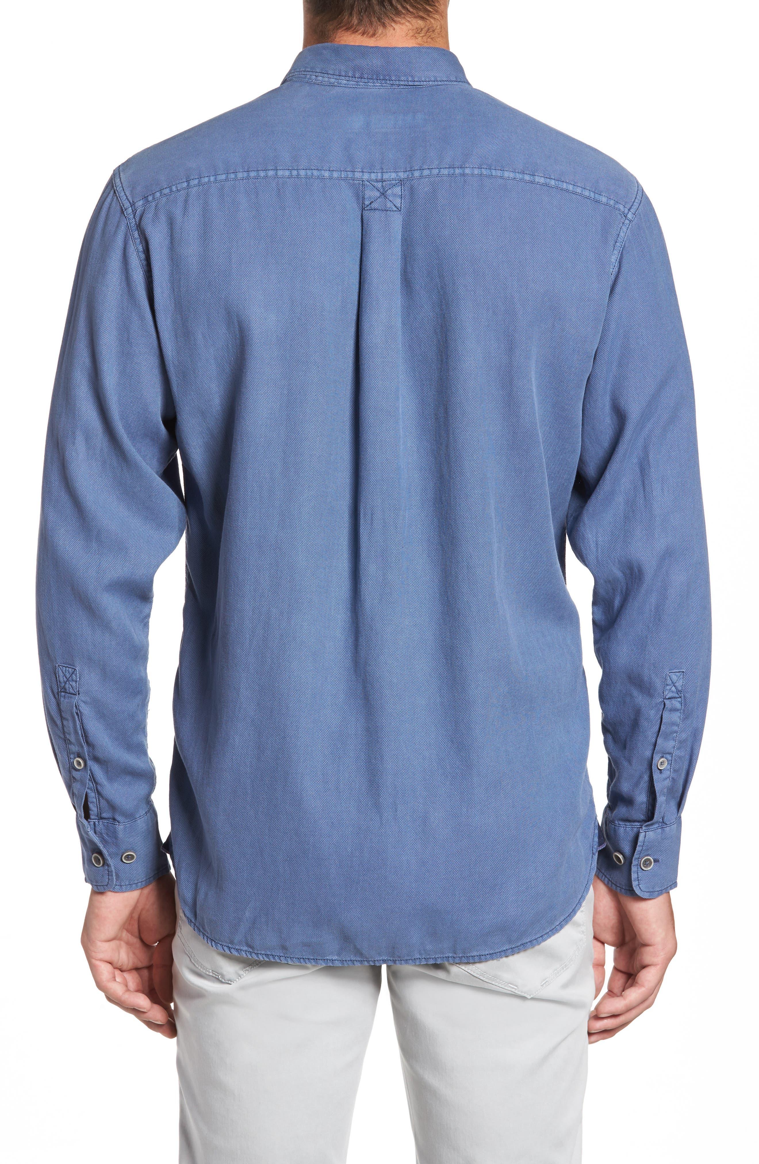Dobby Dylan Sport Shirt,                             Alternate thumbnail 5, color,