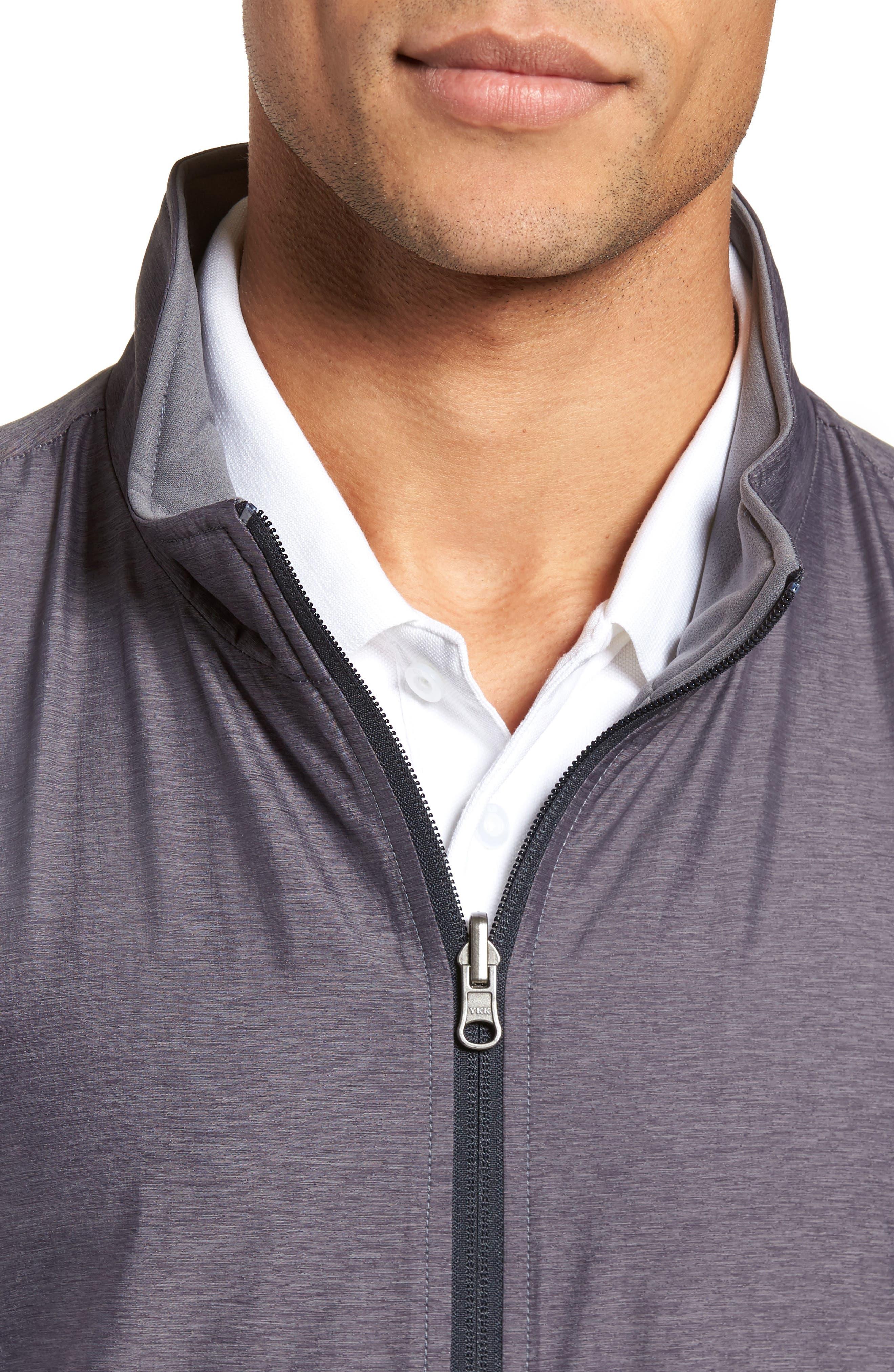 Carthage Reversible Vest,                             Alternate thumbnail 5, color,                             BLACK