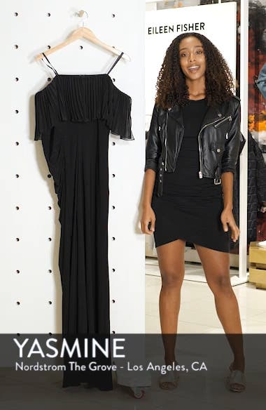 Pleated Chiffon Popover Gown, sales video thumbnail