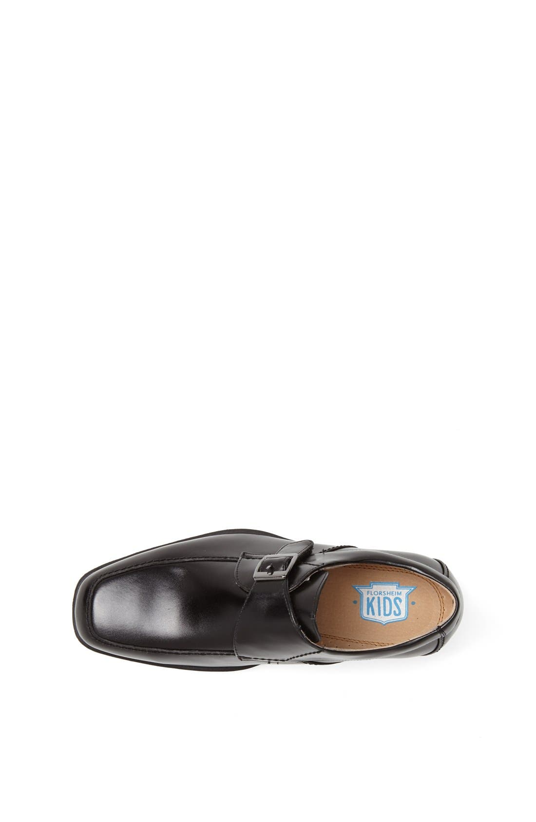 'Reveal' Monk Strap Slip-On,                             Alternate thumbnail 11, color,                             BLACK