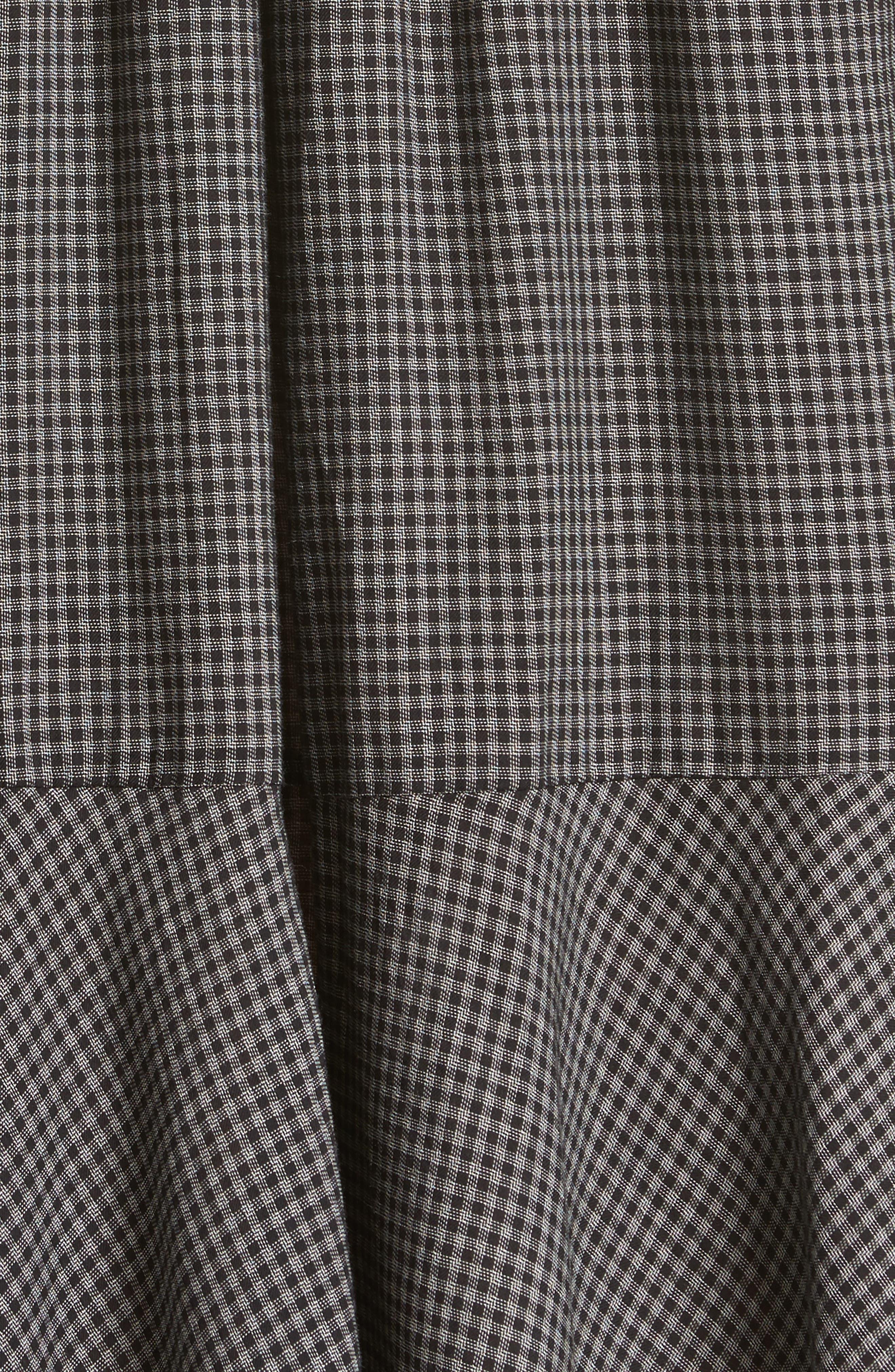 Drop Waist Plaid Dress,                             Alternate thumbnail 5, color,