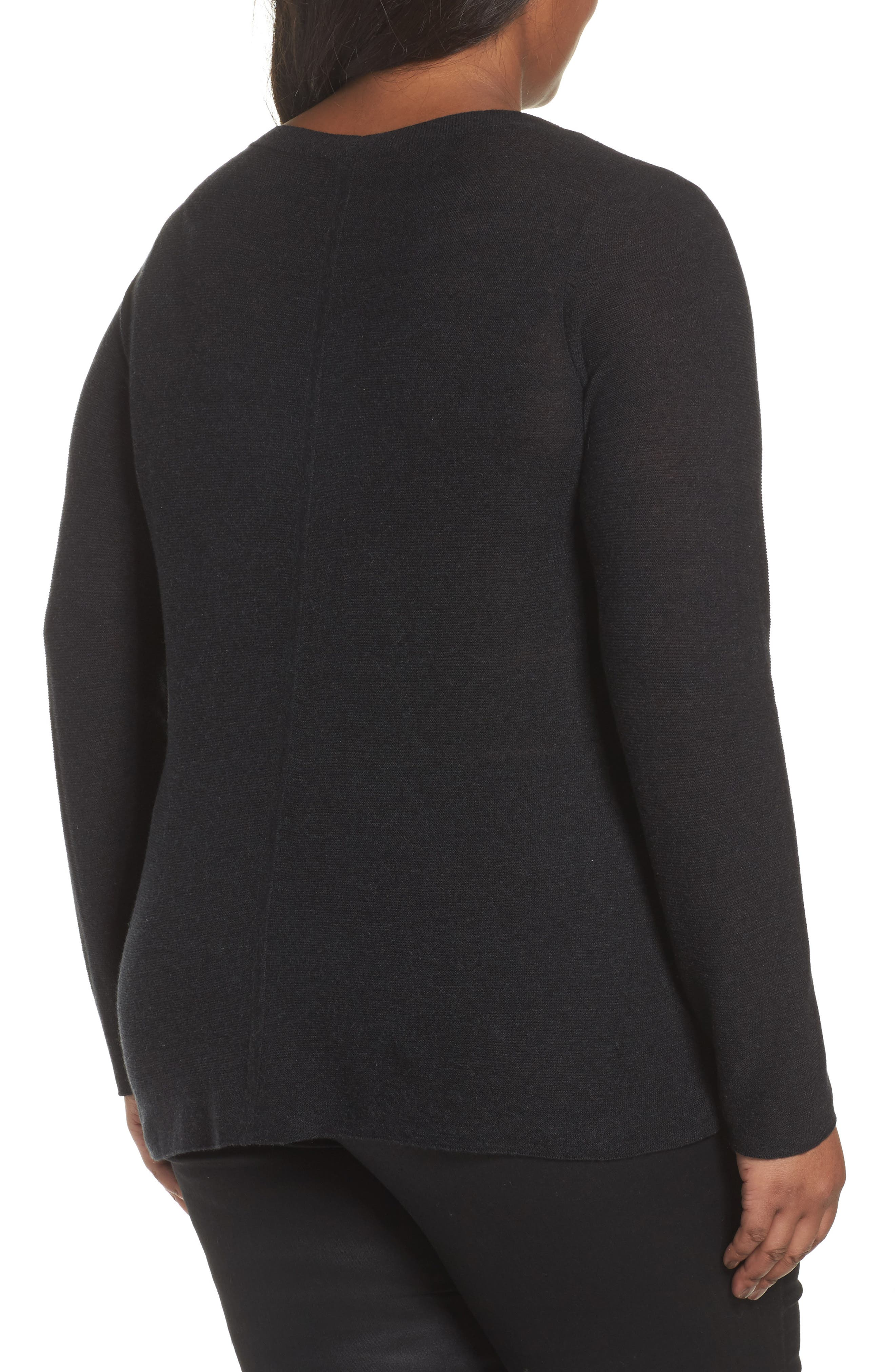 V-Neck Sweater,                             Alternate thumbnail 2, color,                             021