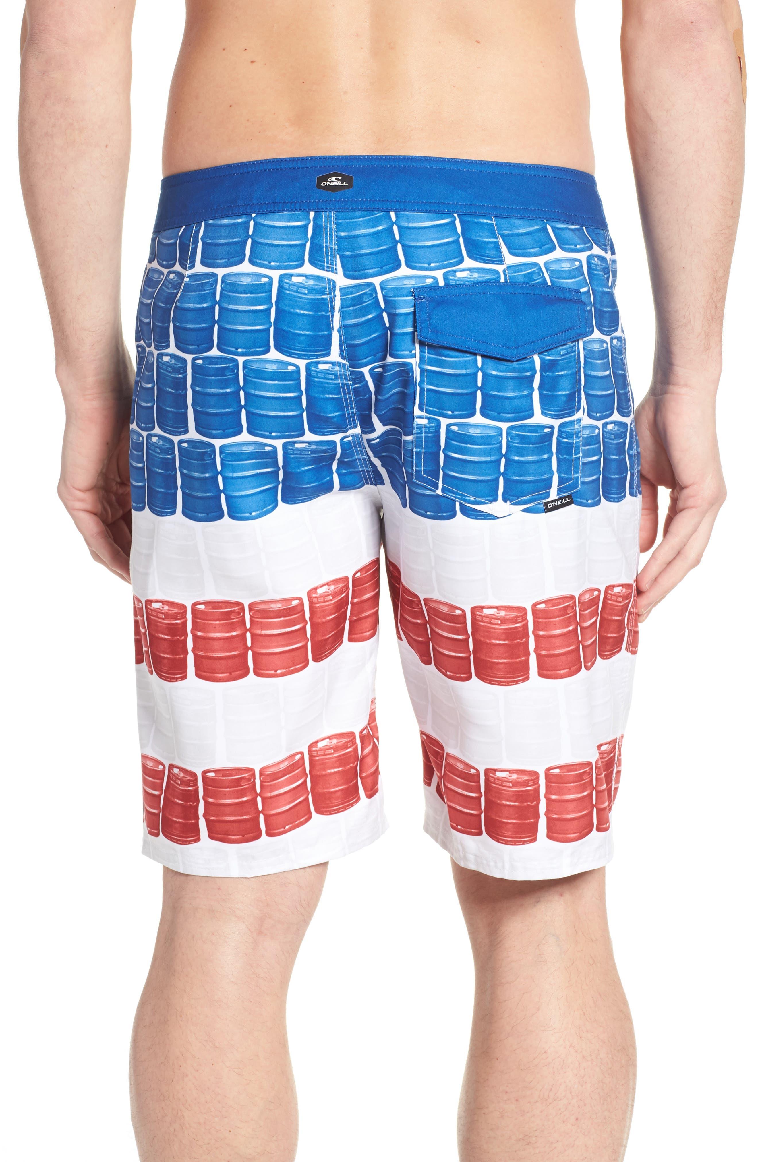 Kegleg Board Shorts,                             Alternate thumbnail 2, color,                             840