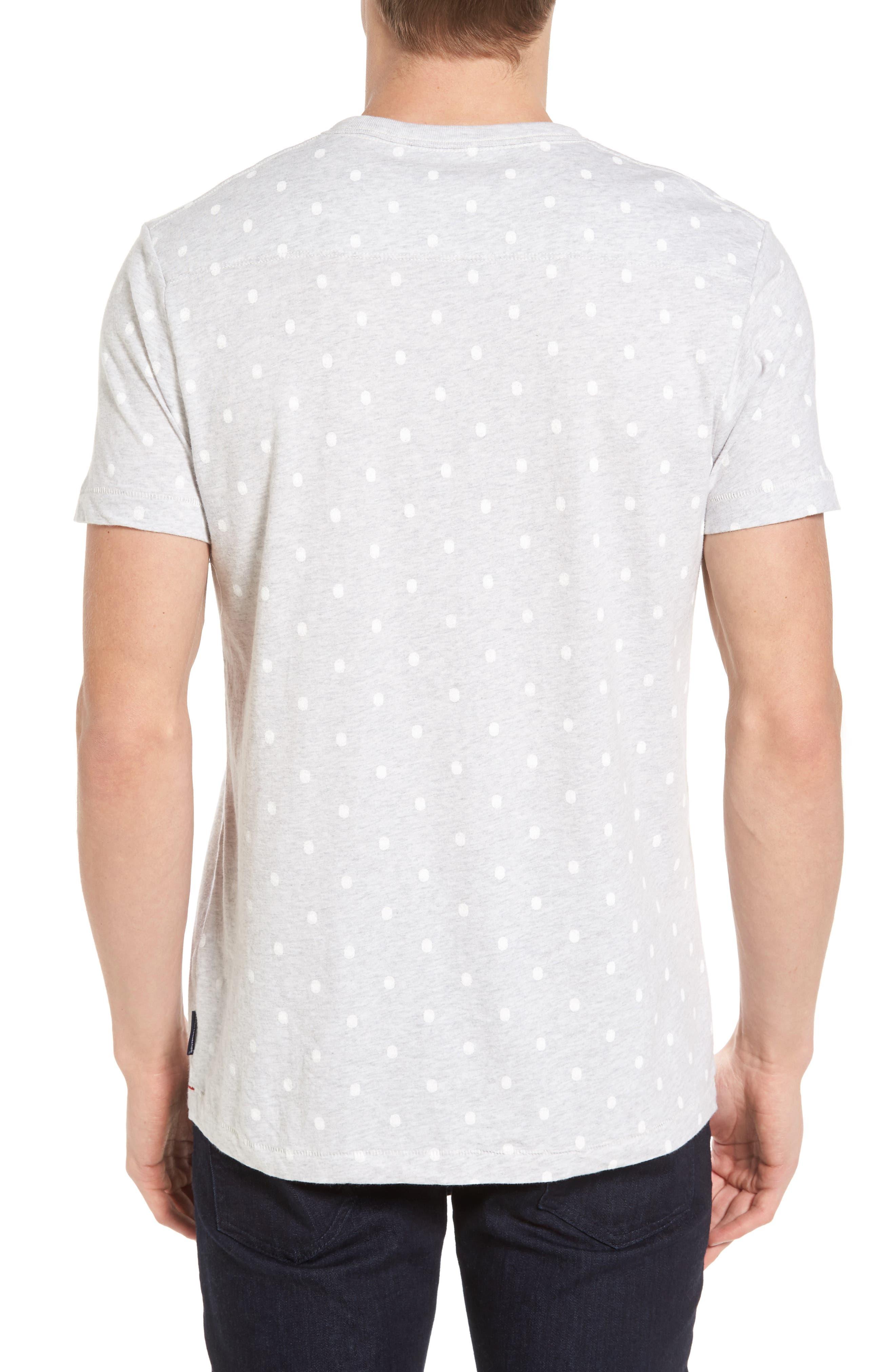 Polka Dot T-Shirt,                             Alternate thumbnail 2, color,                             020