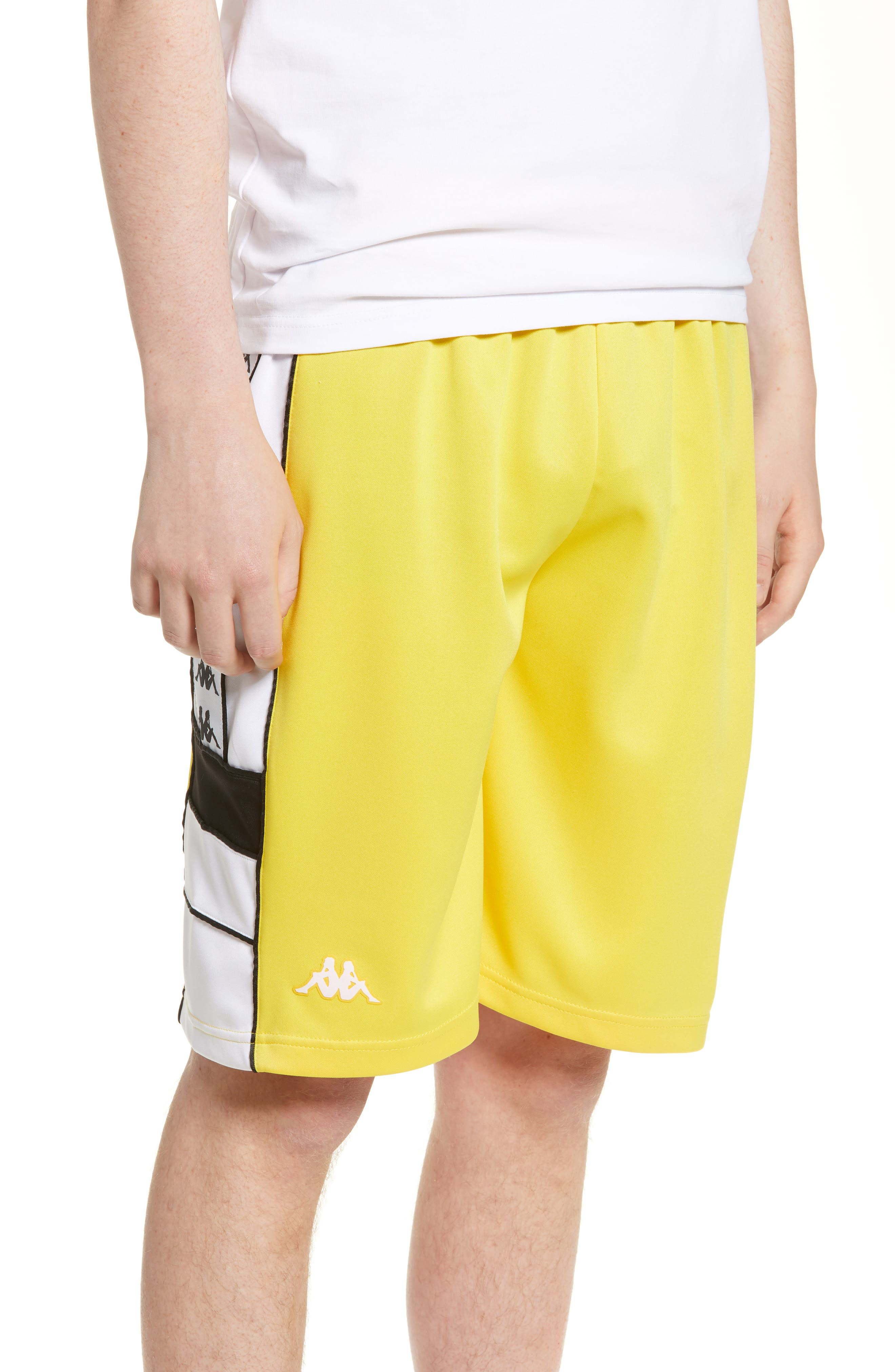 Kappa Banda Shorts, Yellow