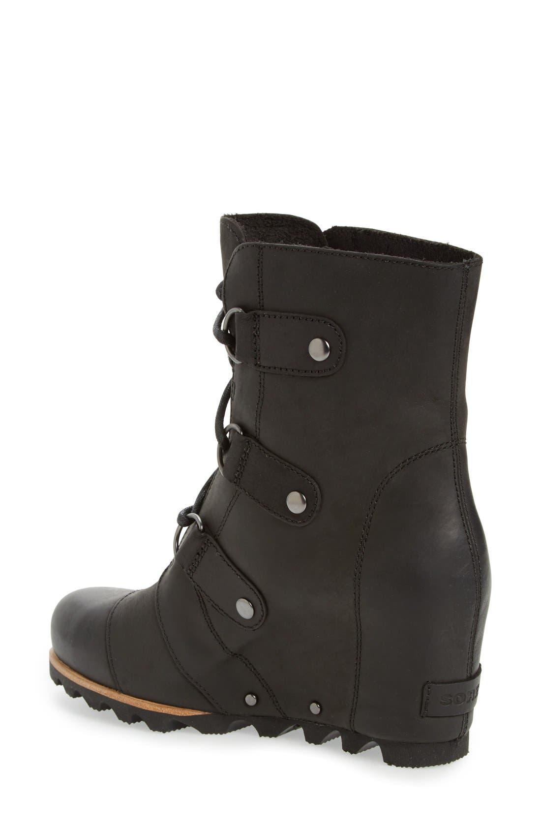 'Joan of Arctic' Waterproof Wedge Boot,                             Alternate thumbnail 12, color,
