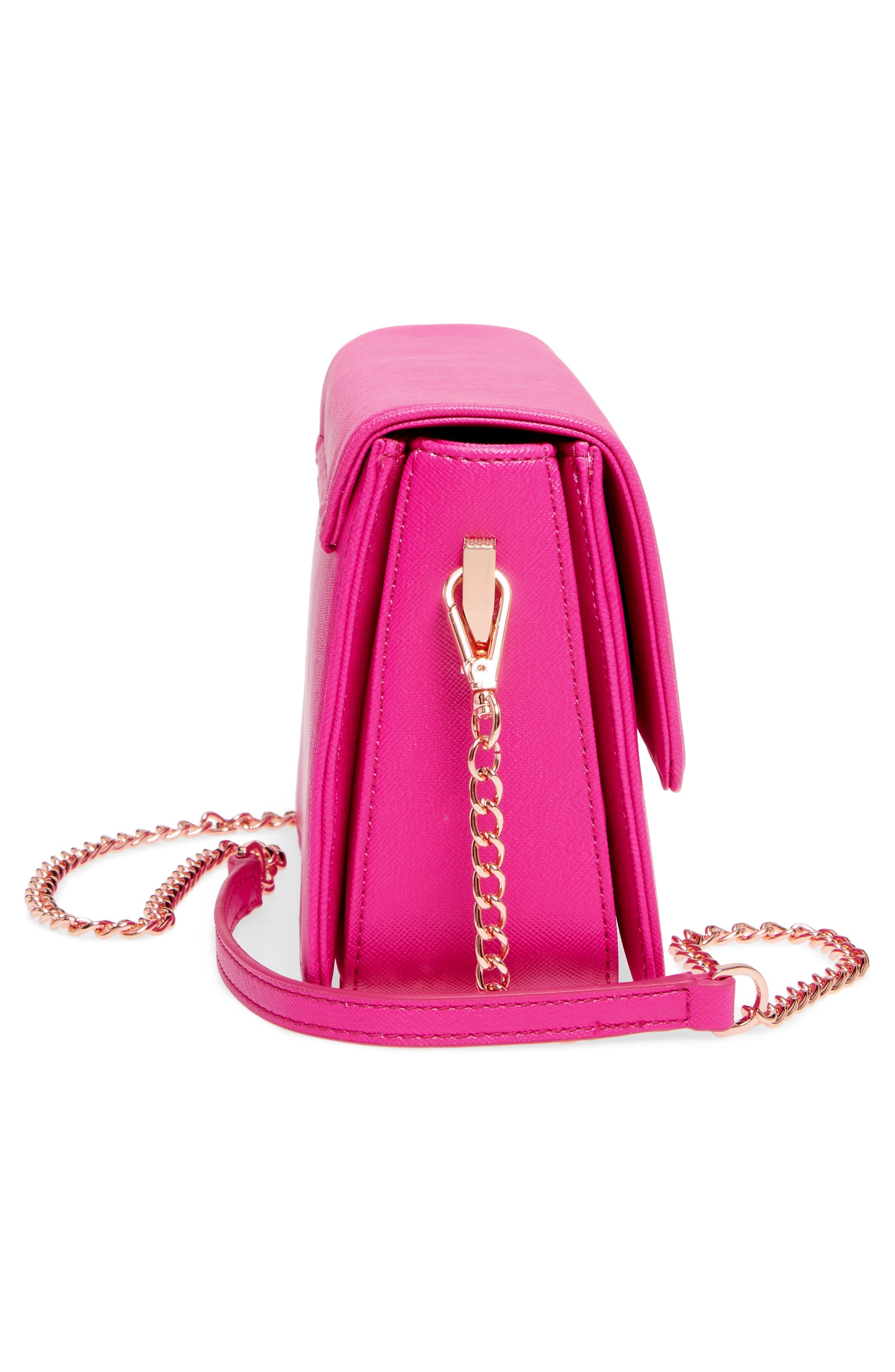 Heatha Faux Leather Crossbody Bag,                             Alternate thumbnail 15, color,