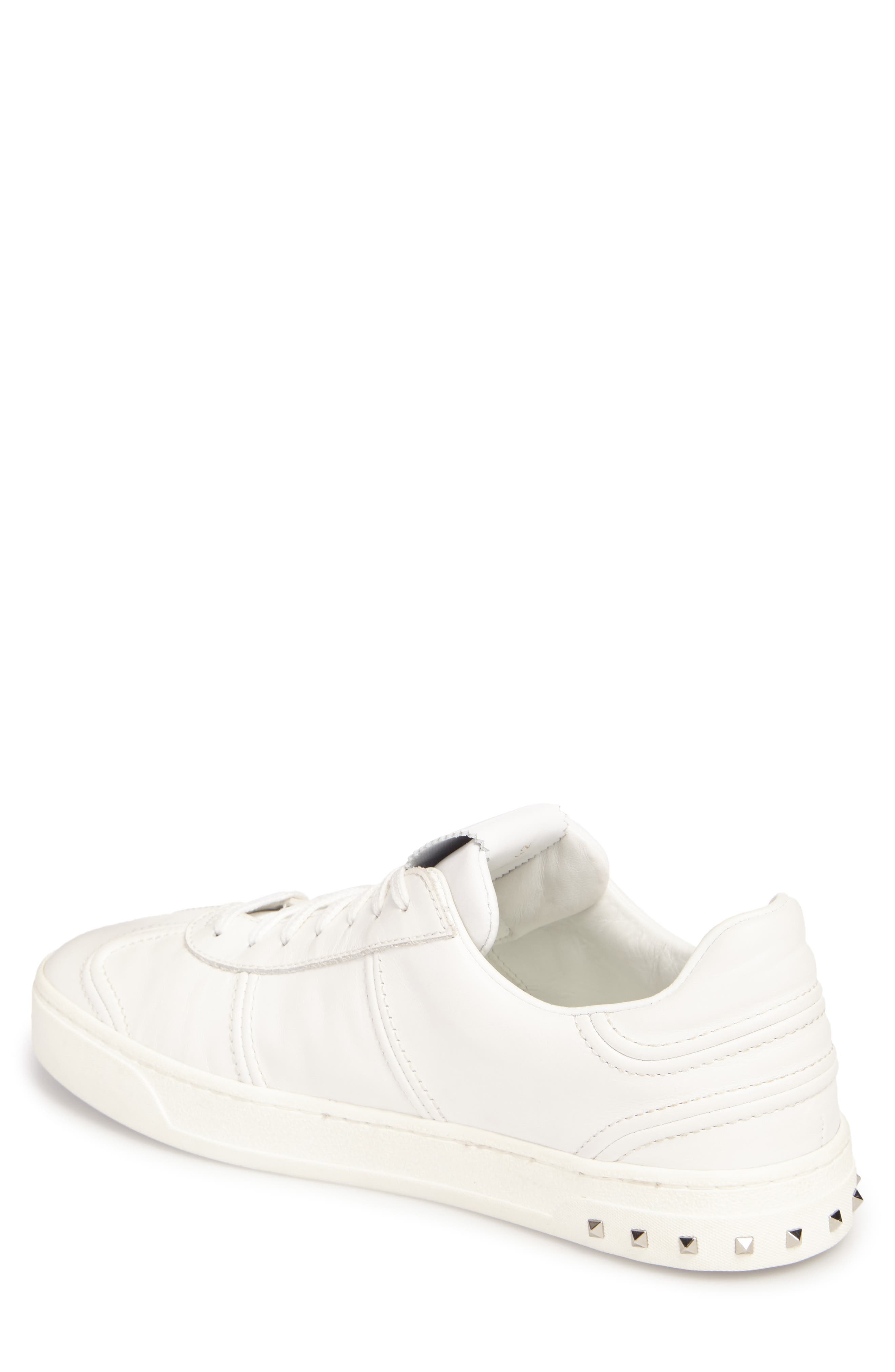 Nappa Fly Crew Sneaker,                             Alternate thumbnail 2, color,