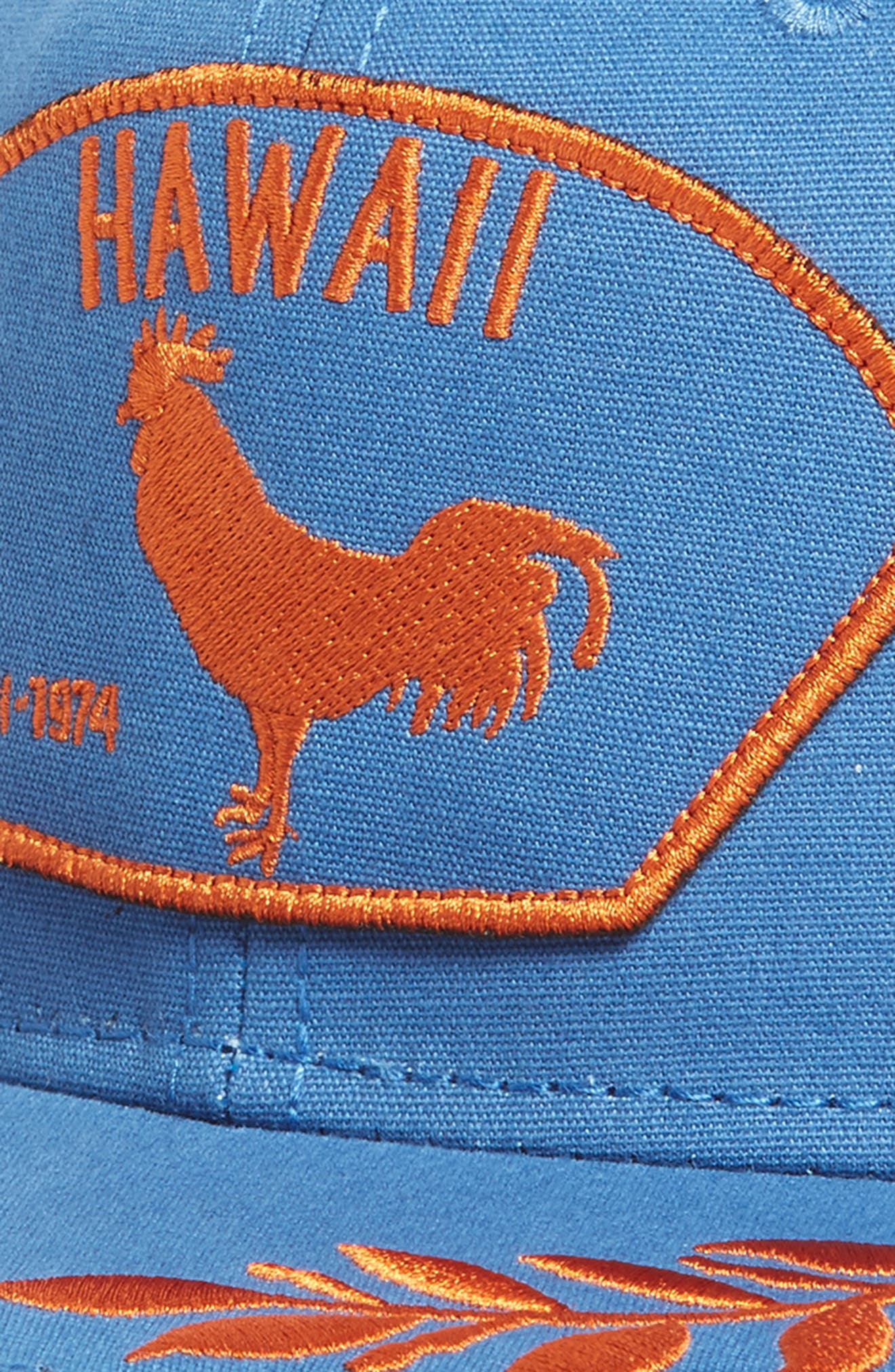 Island Bird Snapback Baseball Cap,                             Alternate thumbnail 3, color,