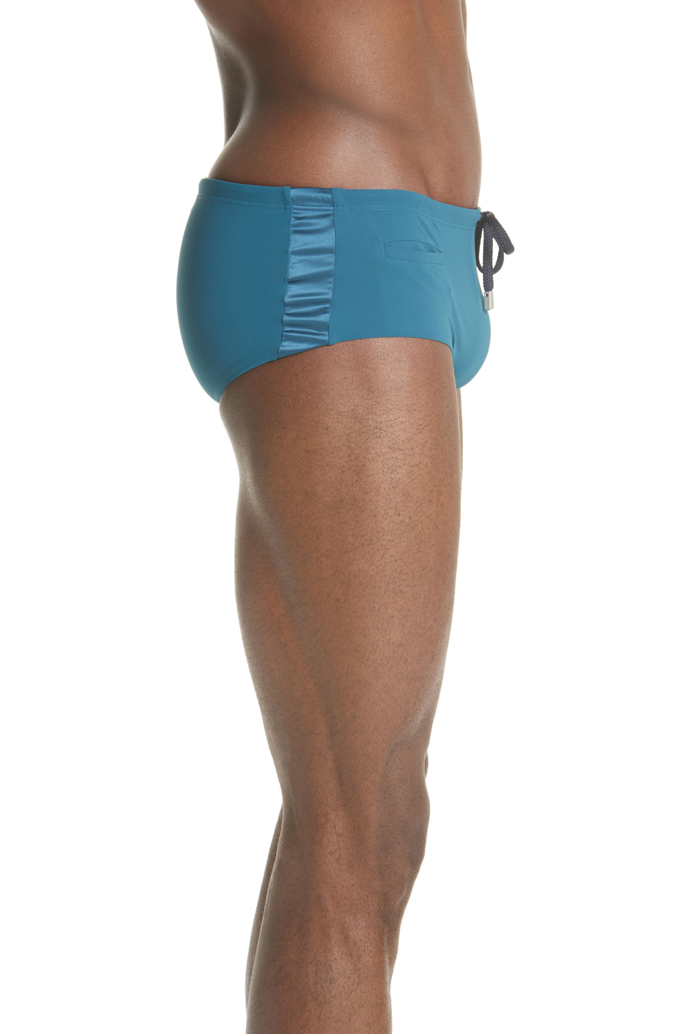 Smoking Jersey Swim Briefs,                             Alternate thumbnail 3, color,                             EMBRUNS