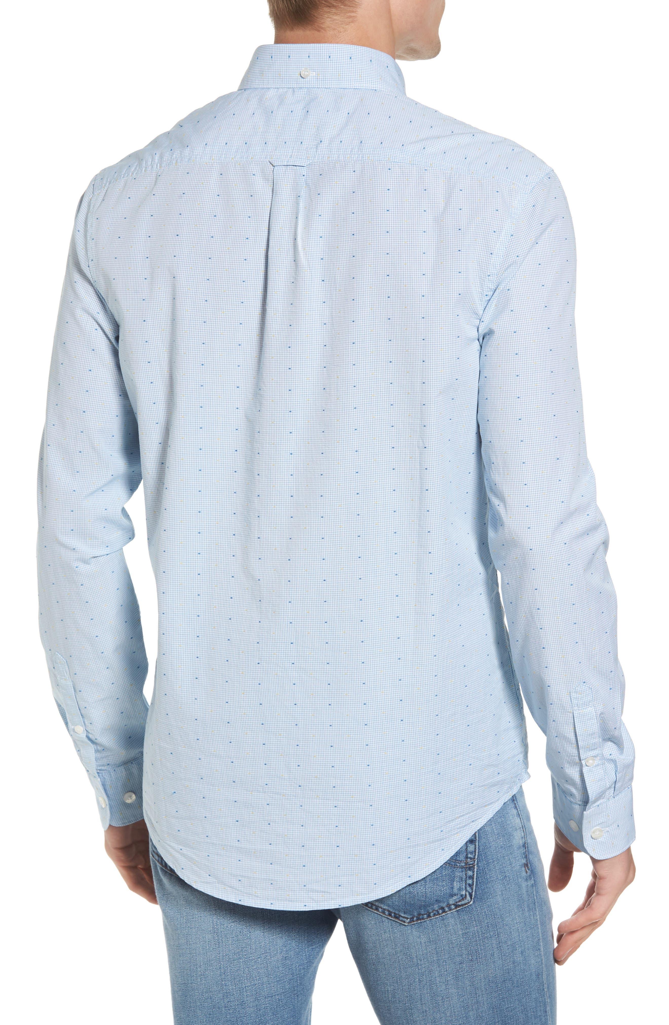 Clipped Dobby Woven Shirt,                             Alternate thumbnail 2, color,                             118