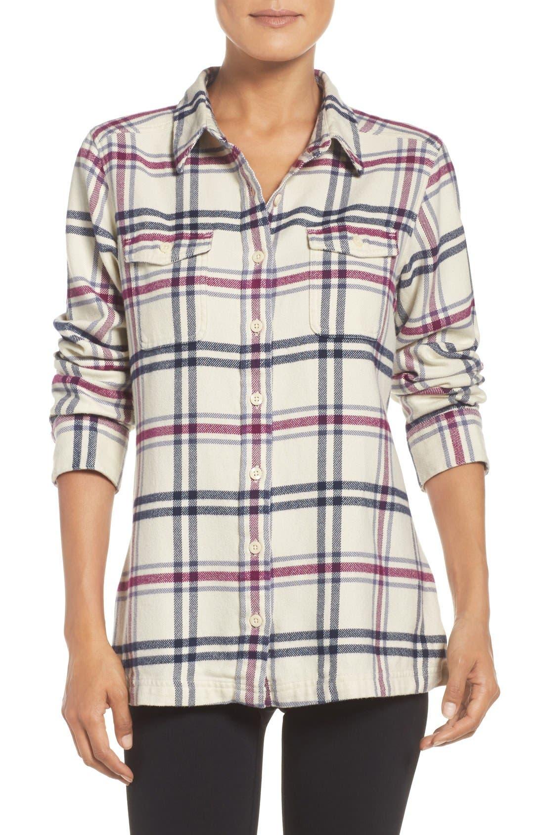 'Fjord' Flannel Shirt,                             Main thumbnail 19, color,