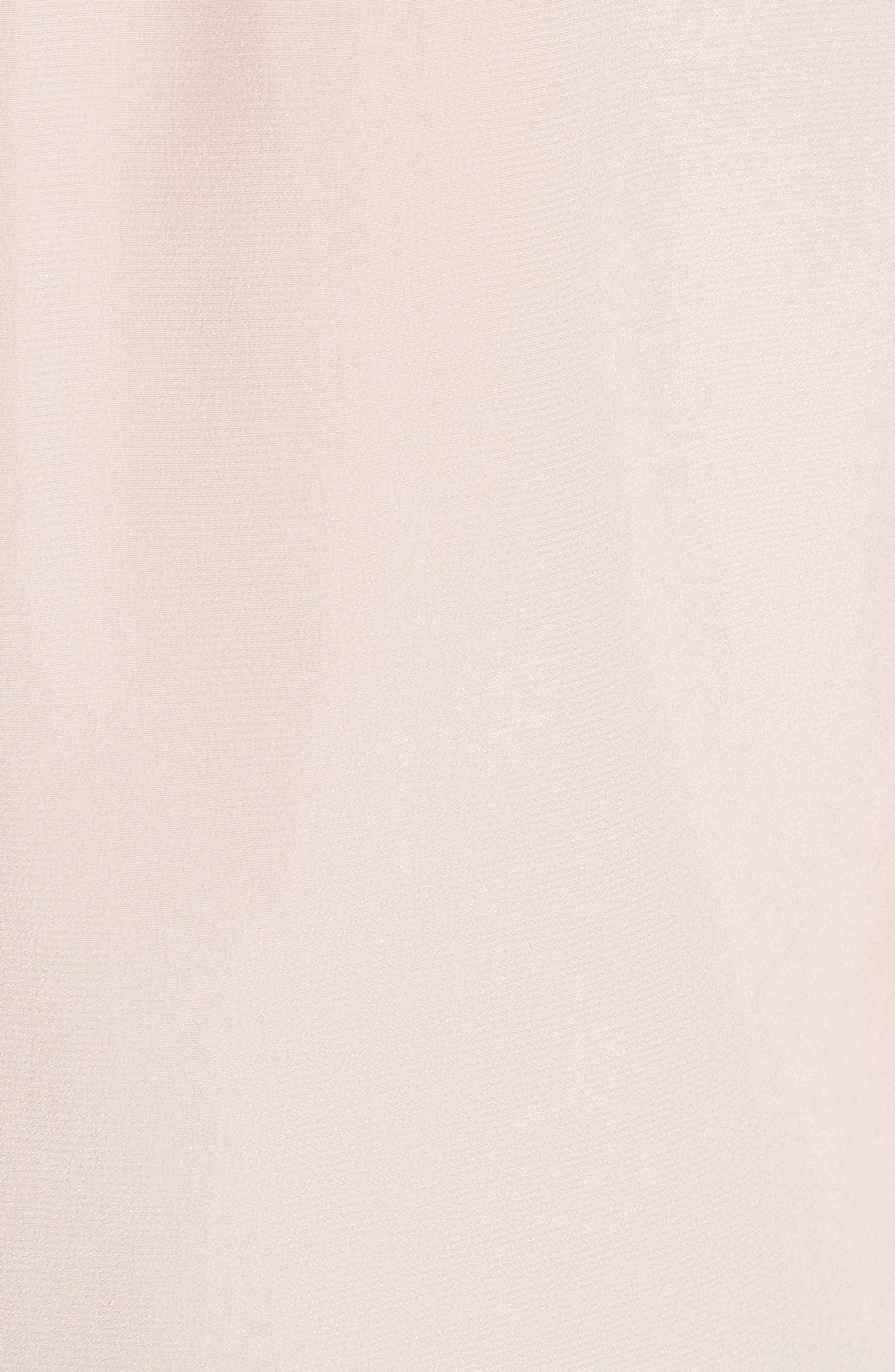KATE SPADE NEW YORK,                             scallop trim silk shirt,                             Alternate thumbnail 5, color,                             663