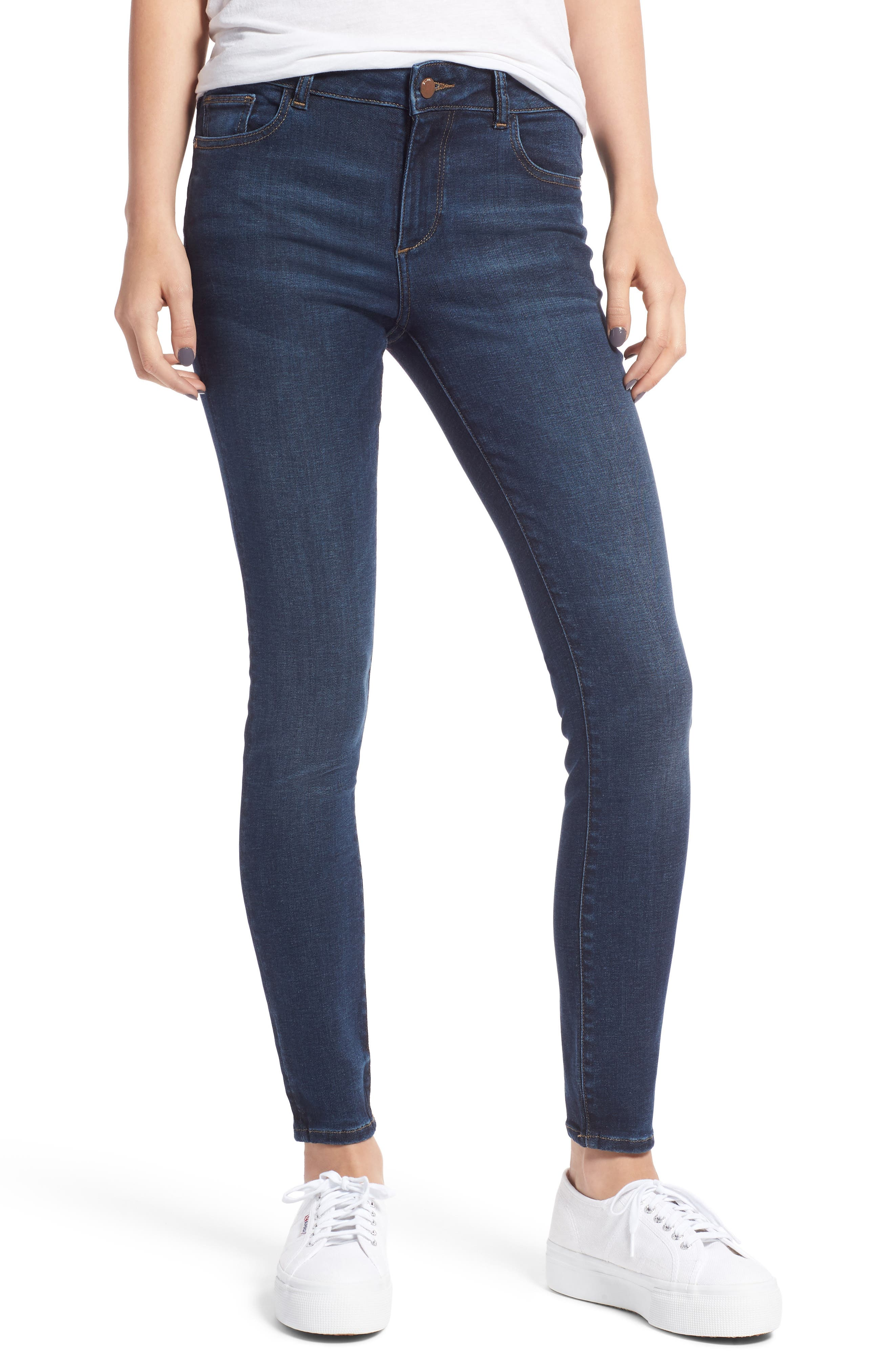 Florence Instasculpt Ankle Skinny Jeans,                         Main,                         color, 425