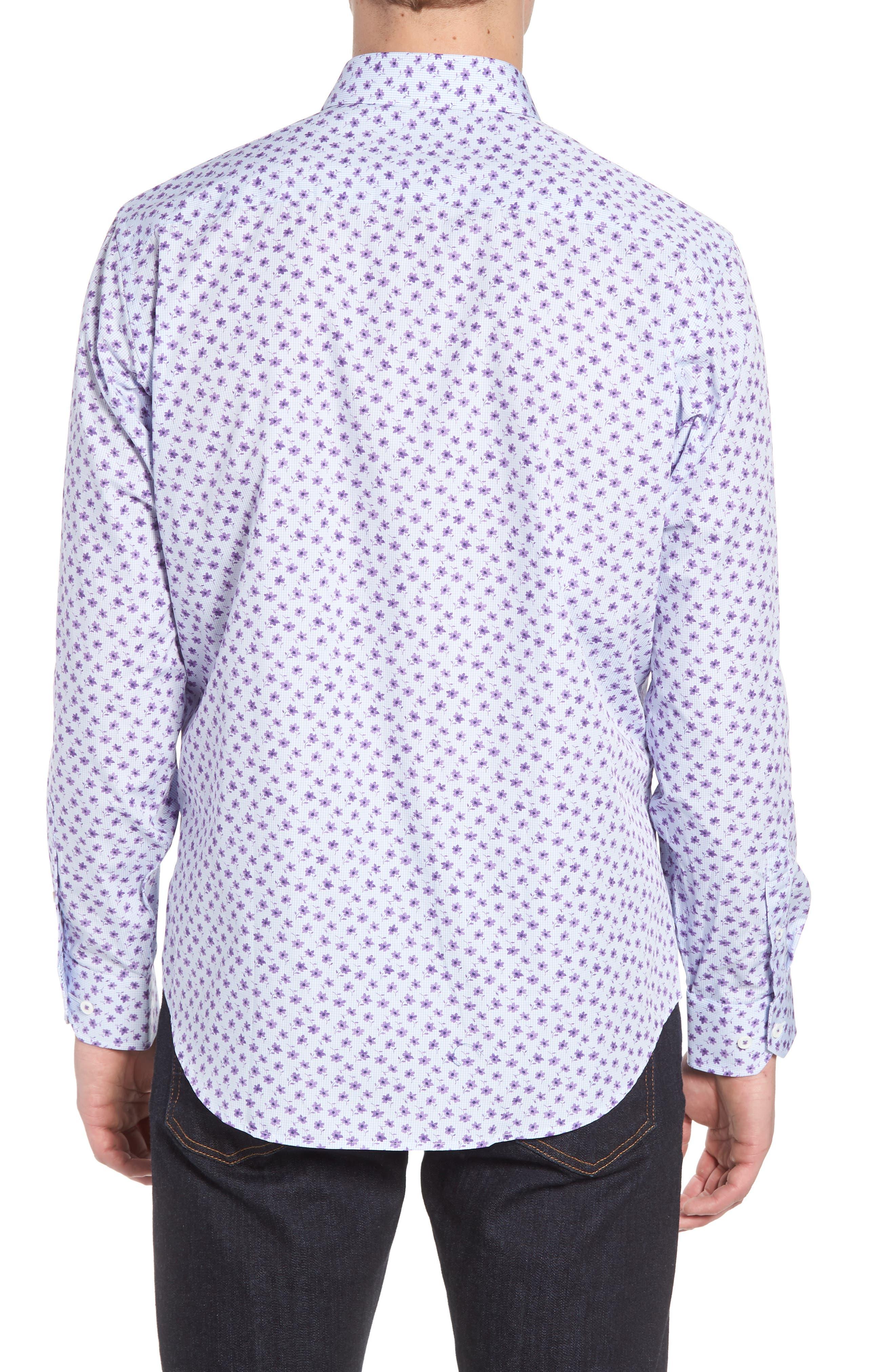 Classic Fit Woven Sport Shirt,                             Alternate thumbnail 2, color,                             503
