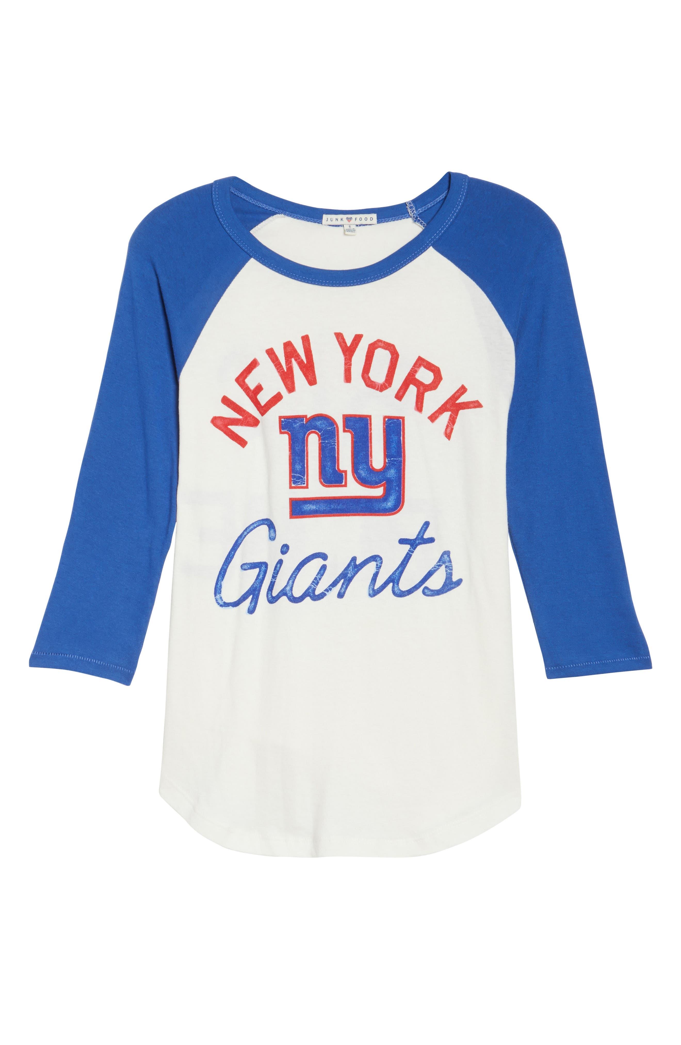 NFL New York Giants Raglan Tee,                             Alternate thumbnail 6, color,                             189