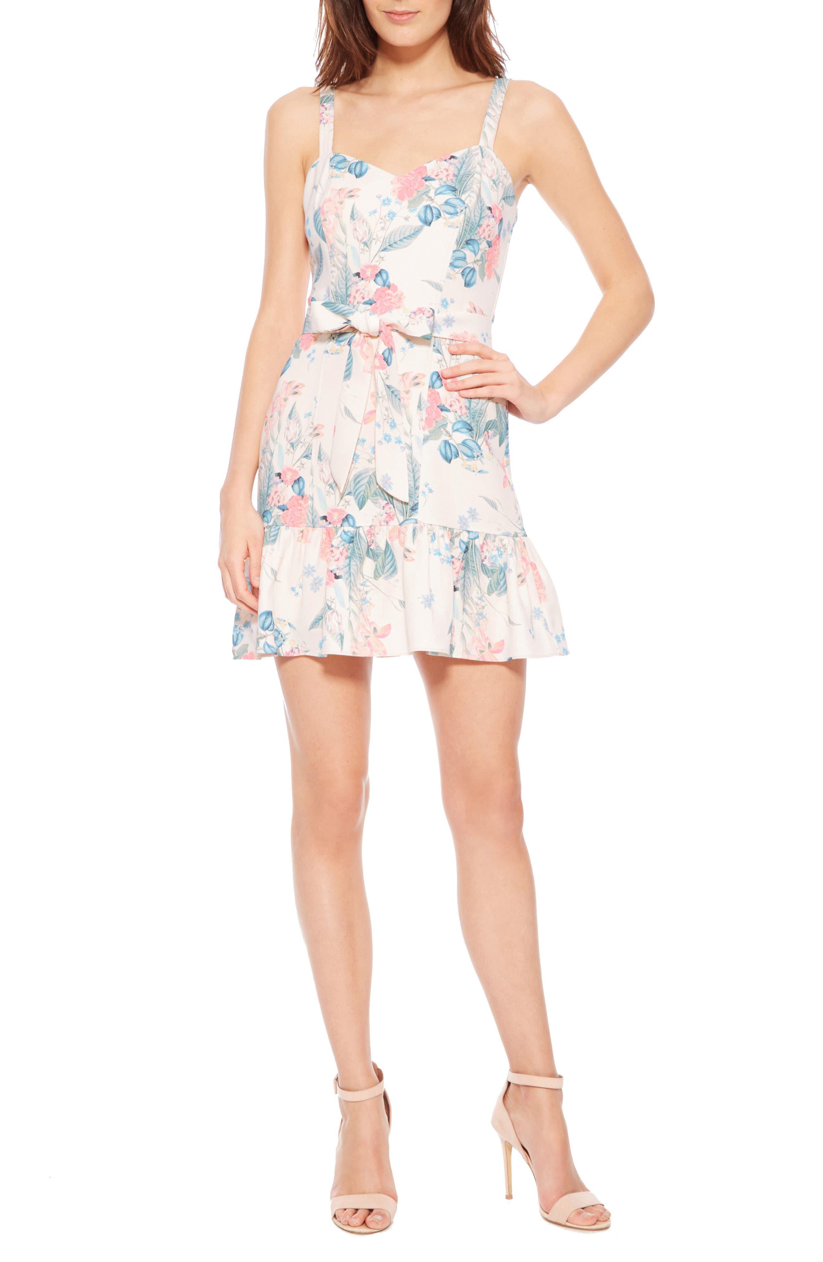 Yuna Dress,                             Main thumbnail 1, color,                             MELLOW MEADOW