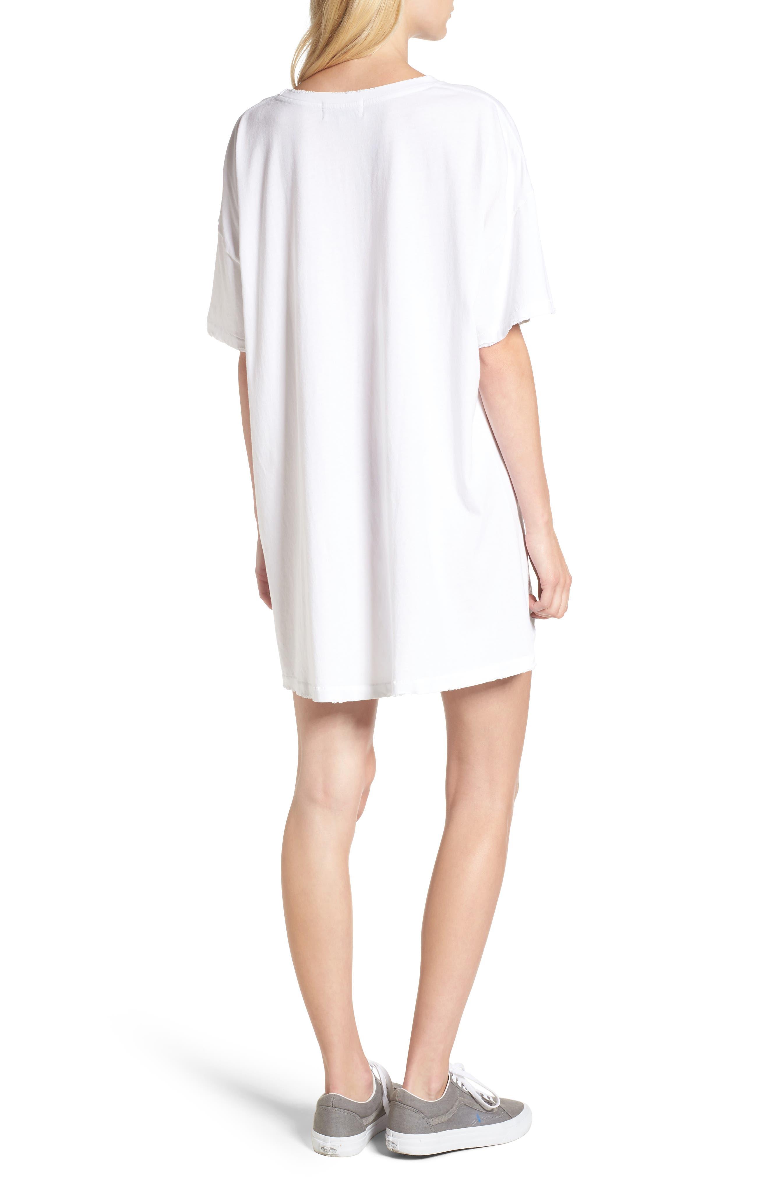 Babe T-Shirt Dress,                             Alternate thumbnail 2, color,                             100