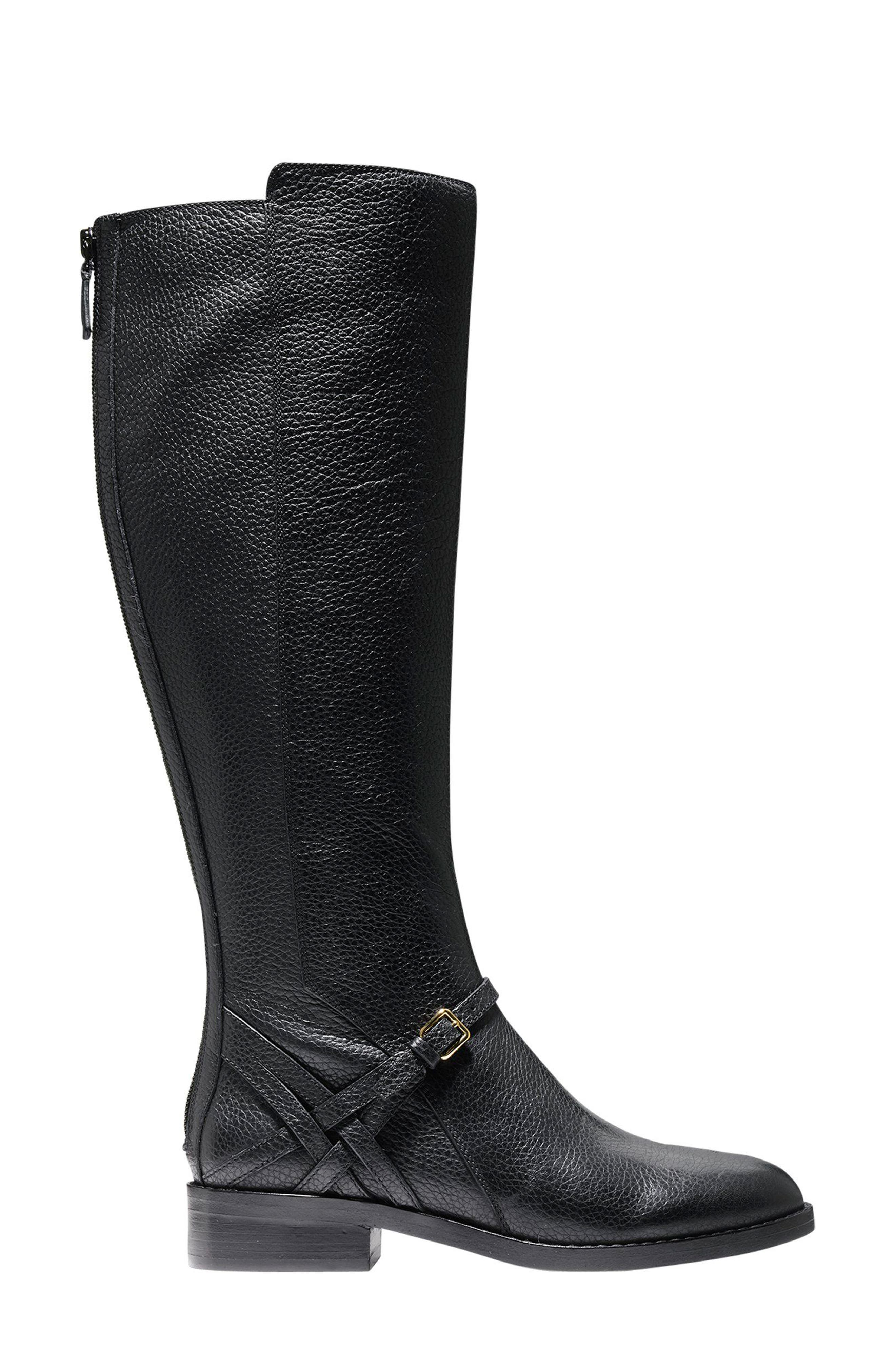 Pearlie Tall Boot,                             Alternate thumbnail 3, color,                             001