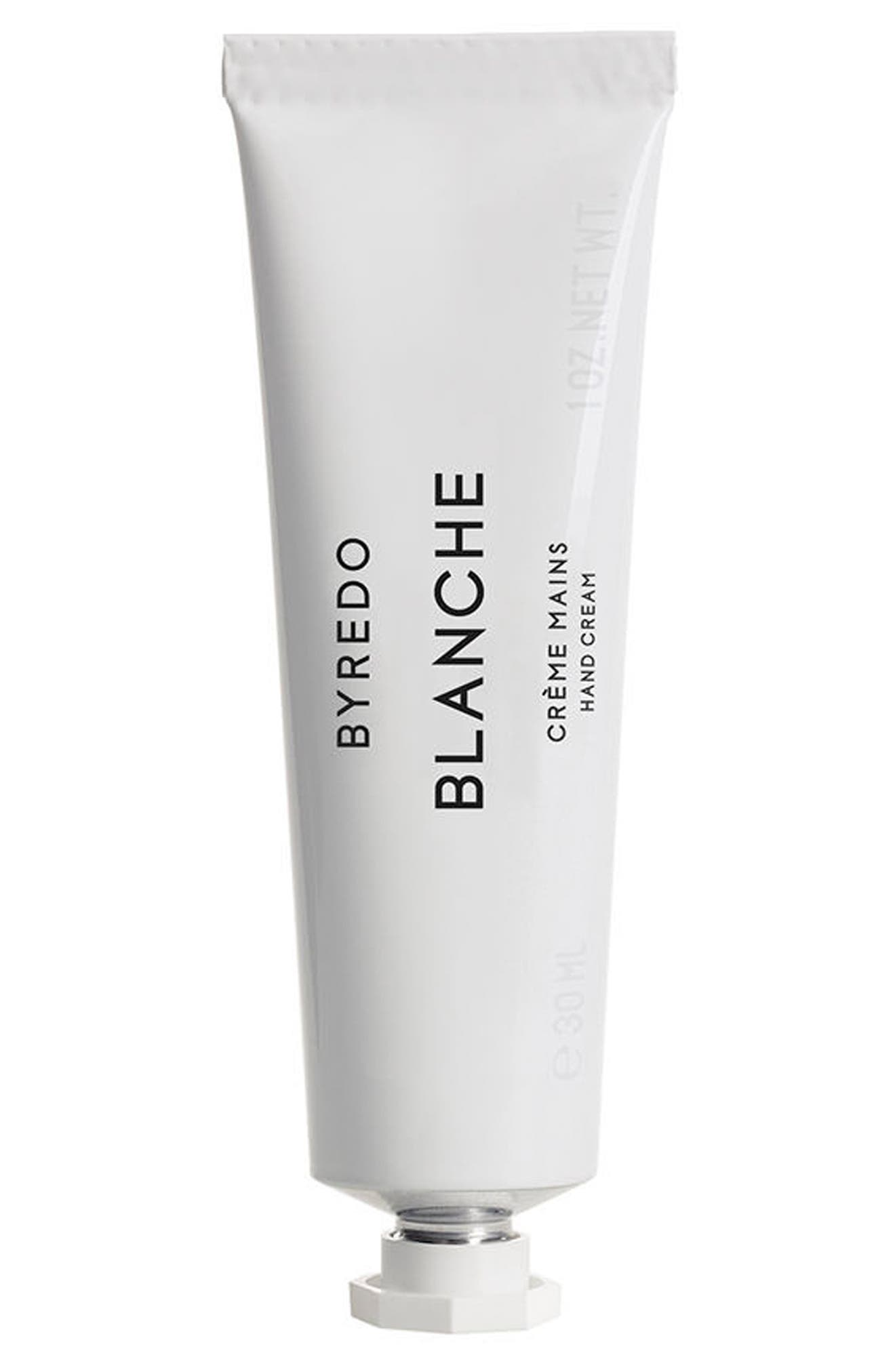 BYREDO Blanche Hand Cream, Main, color, NO COLOR