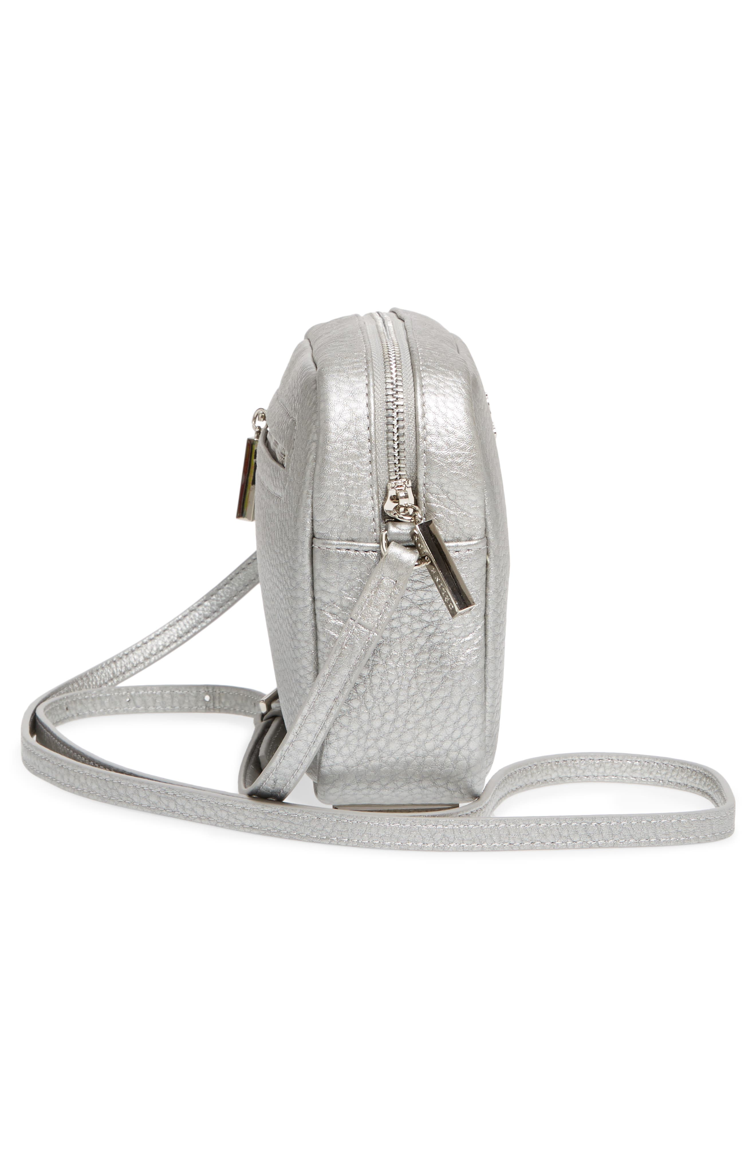 Céline Dion Adagio Leather Camera Crossbody Bag,                             Alternate thumbnail 14, color,