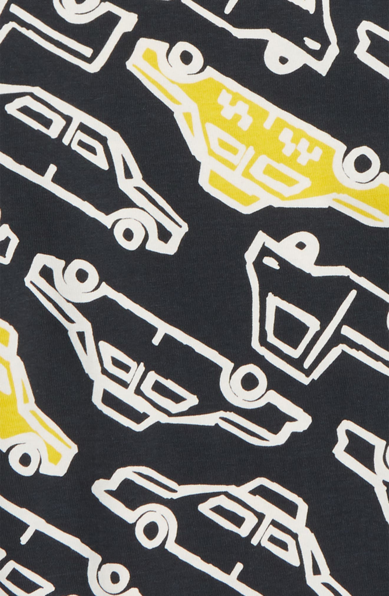 TEA COLLECTION,                             Layer T-Shirt,                             Alternate thumbnail 2, color,                             001