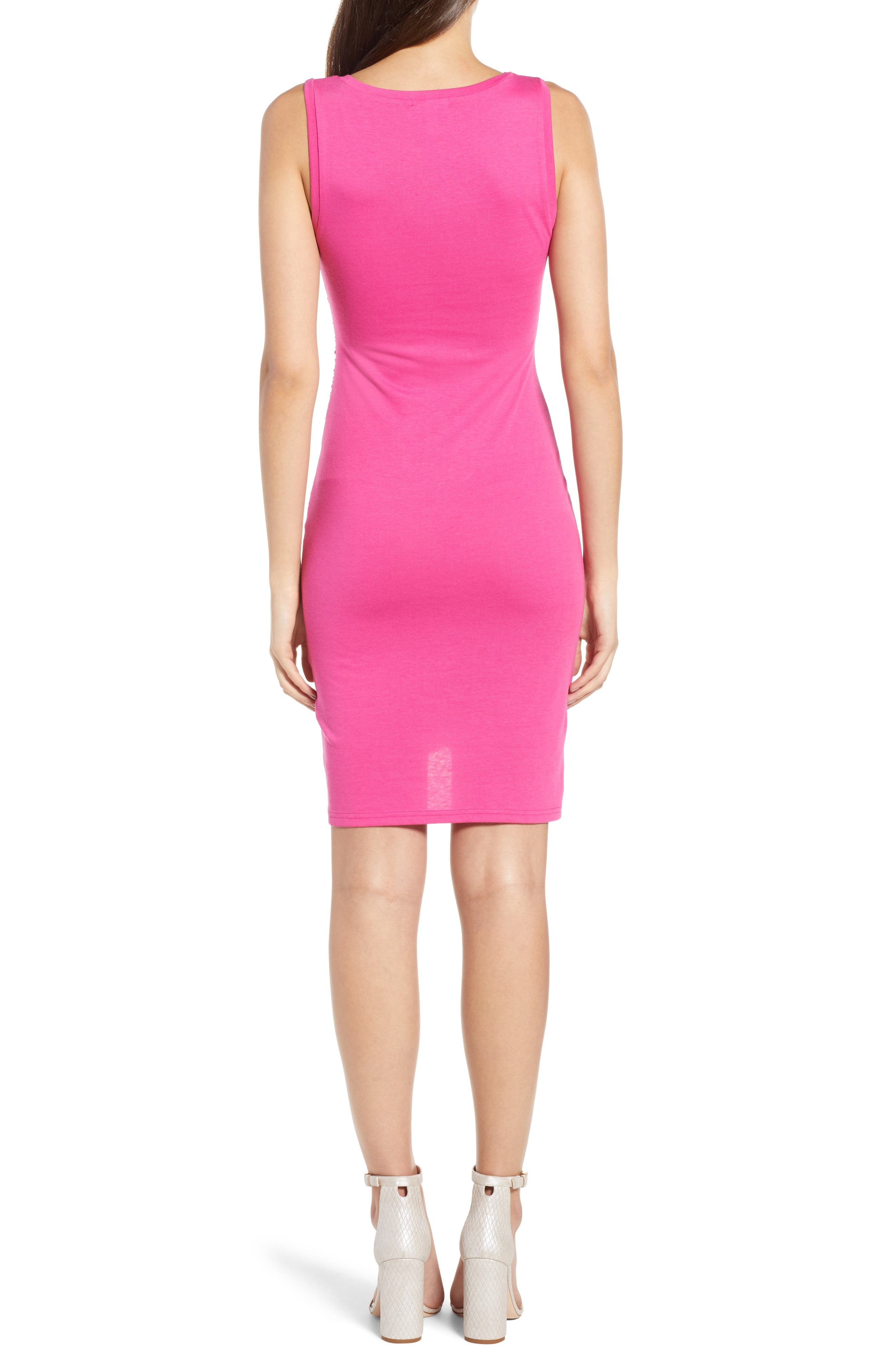Ruched Body-Con Tank Dress,                             Alternate thumbnail 52, color,