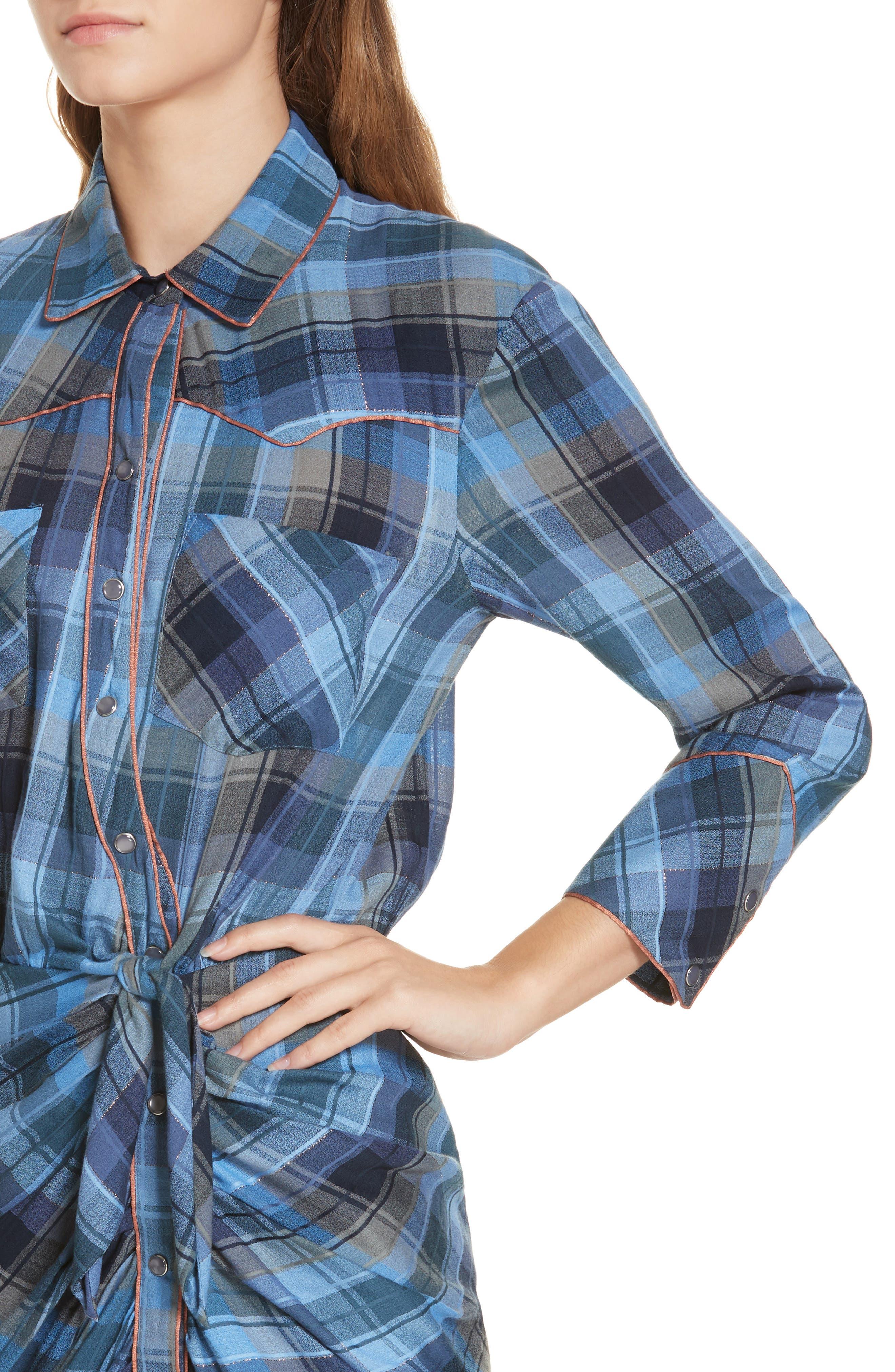 Sierra Western Shirtdress,                             Alternate thumbnail 4, color,                             431