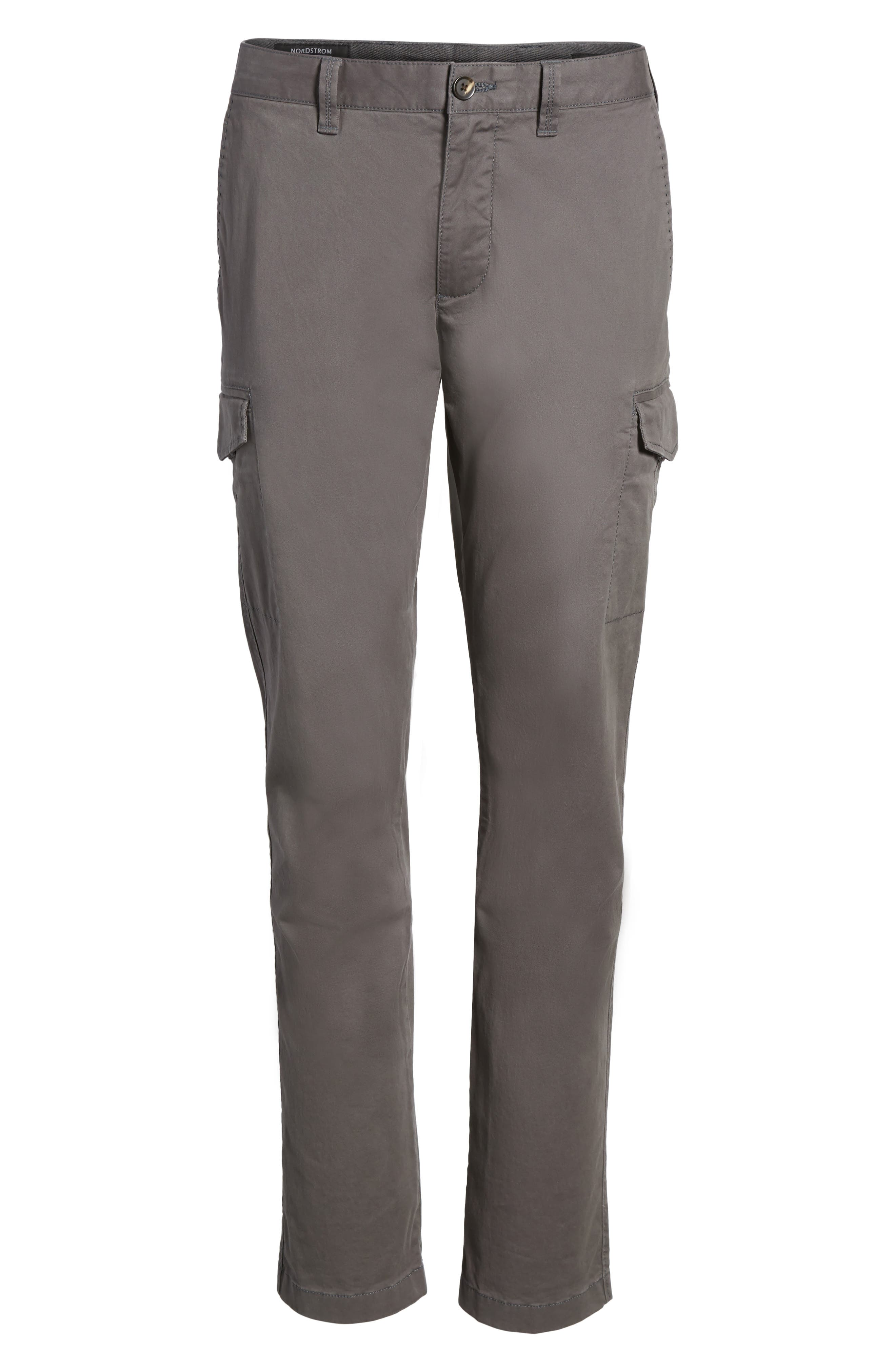 Regular Fit Cargo Pants,                             Alternate thumbnail 6, color,                             021