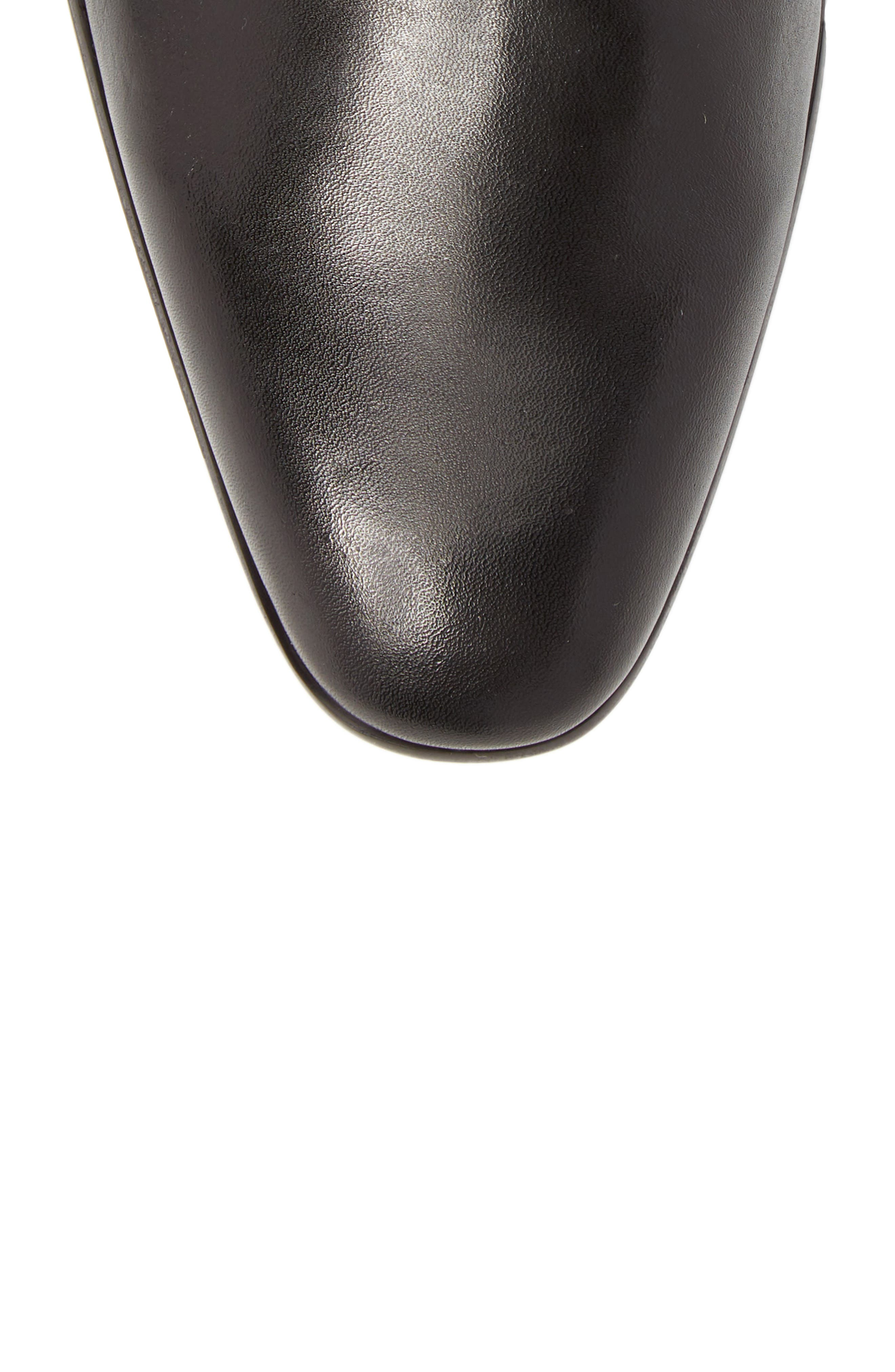 Edward Chelsea Boot,                             Alternate thumbnail 5, color,                             BLACK LEATHER