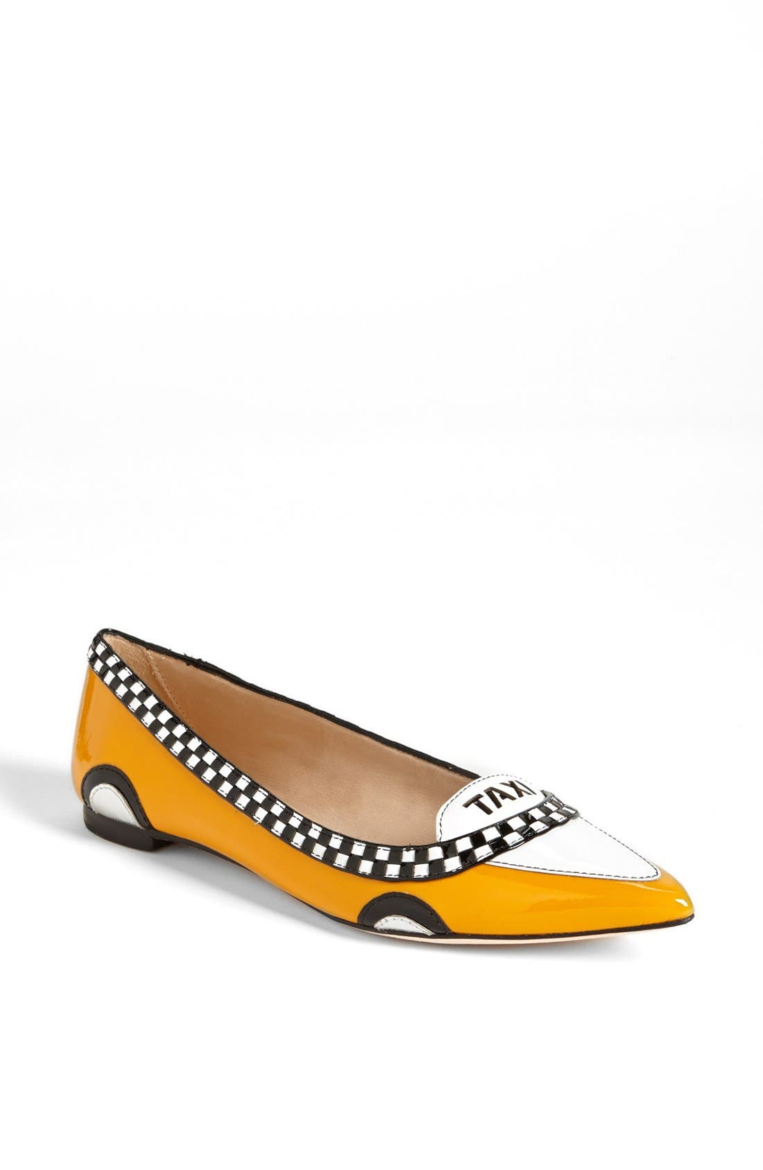 'go' flat,                             Main thumbnail 1, color,                             TAXI YELLOW PATENT