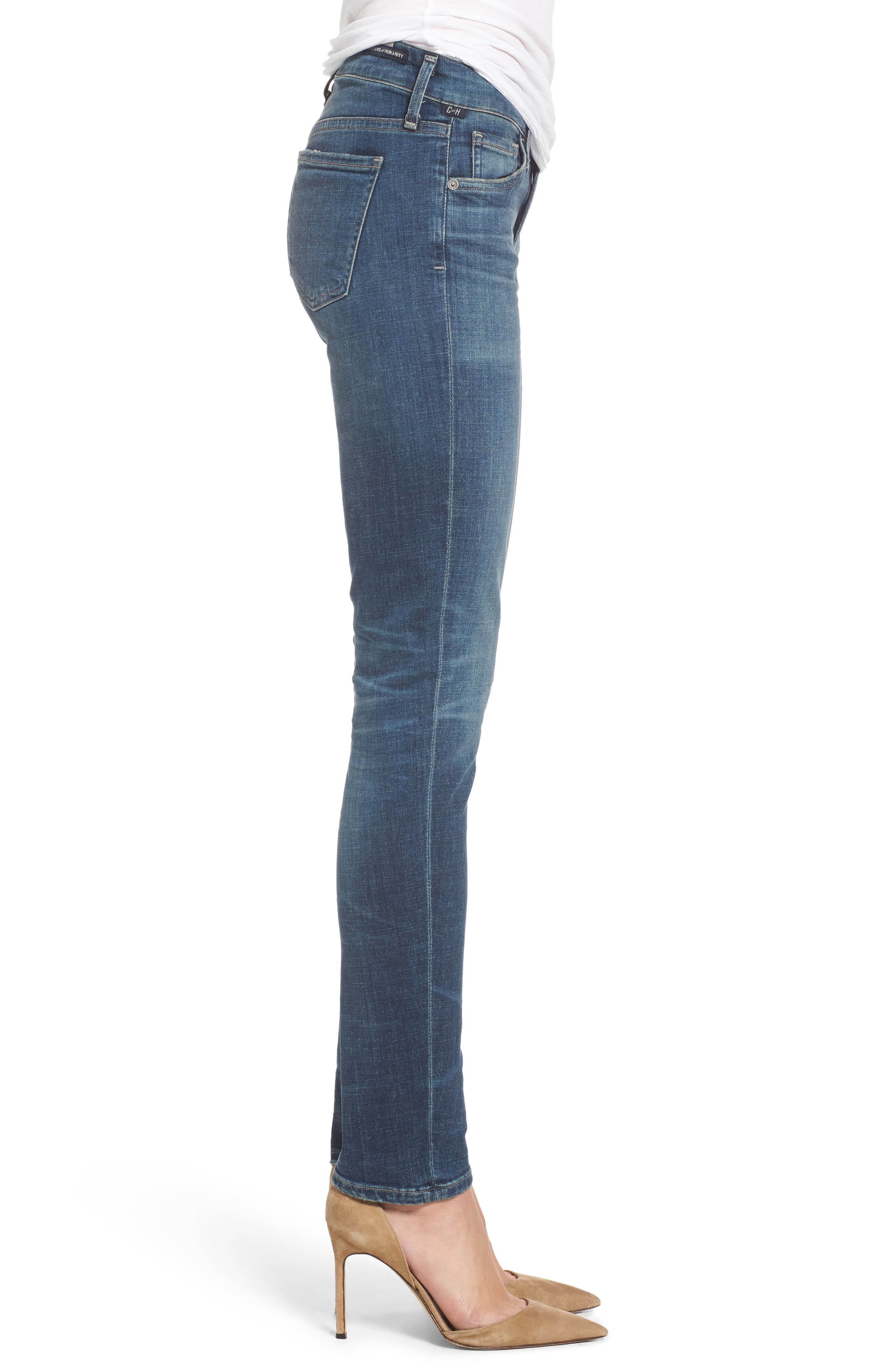 Arielle Slim Jeans,                             Alternate thumbnail 3, color,
