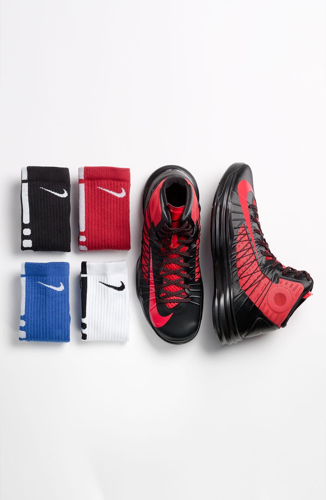 'Elite Basketball' Crew Socks,                             Main thumbnail 1, color,