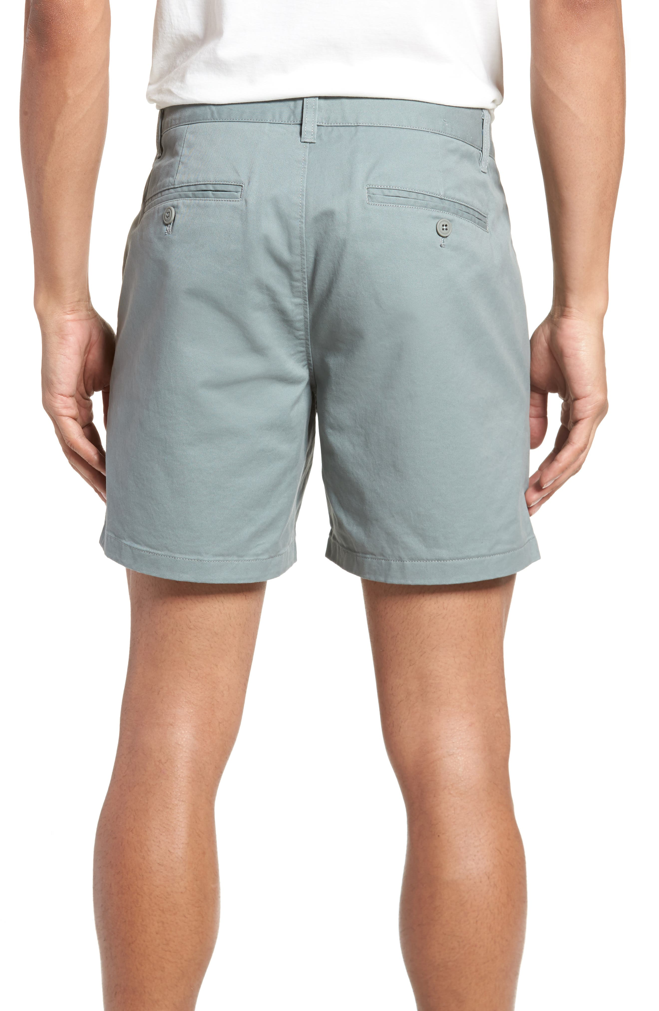 Stretch Washed Chino 5-Inch Shorts,                             Alternate thumbnail 32, color,