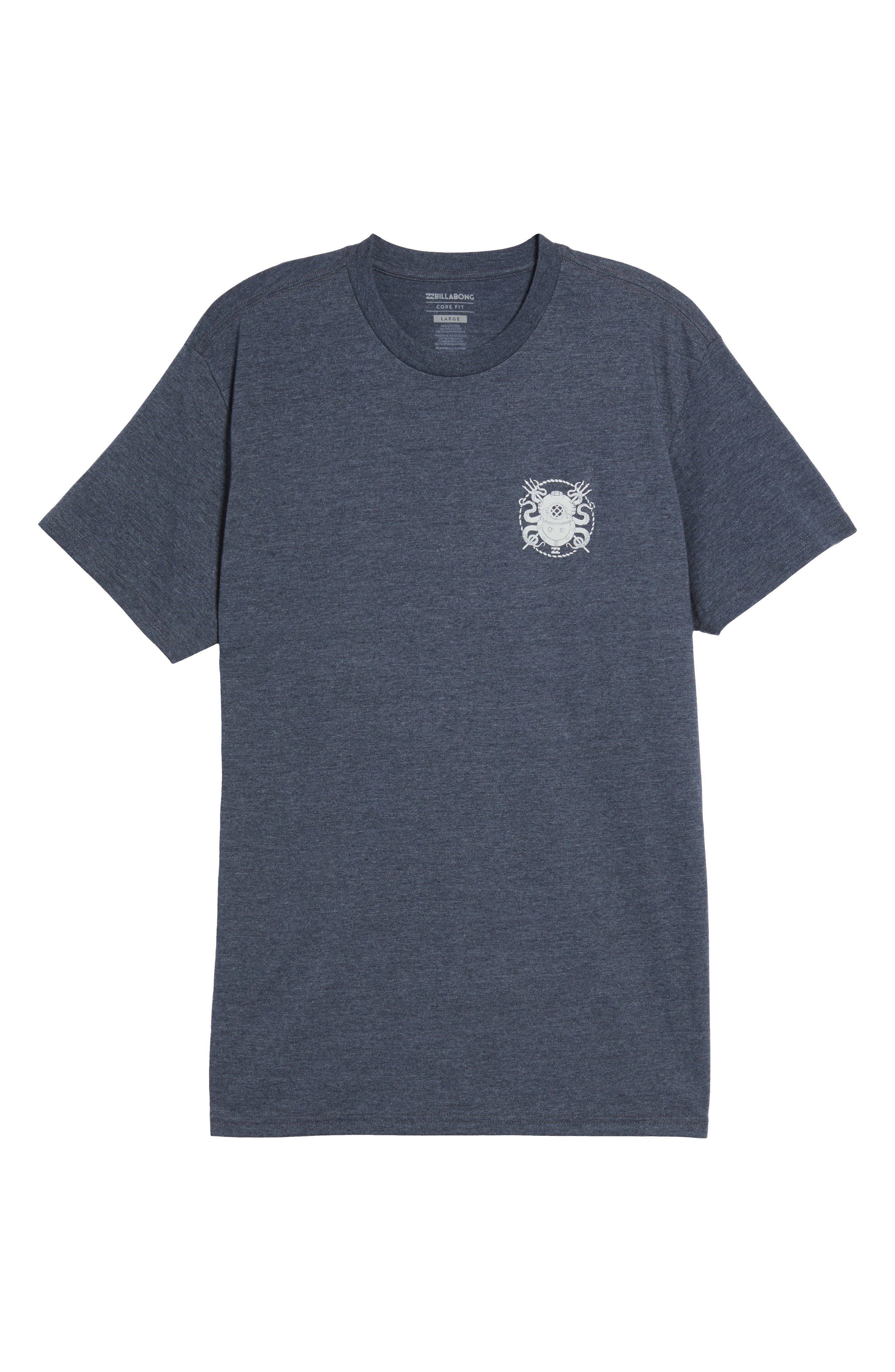 Diver Graphic T-Shirt,                             Alternate thumbnail 6, color,                             412