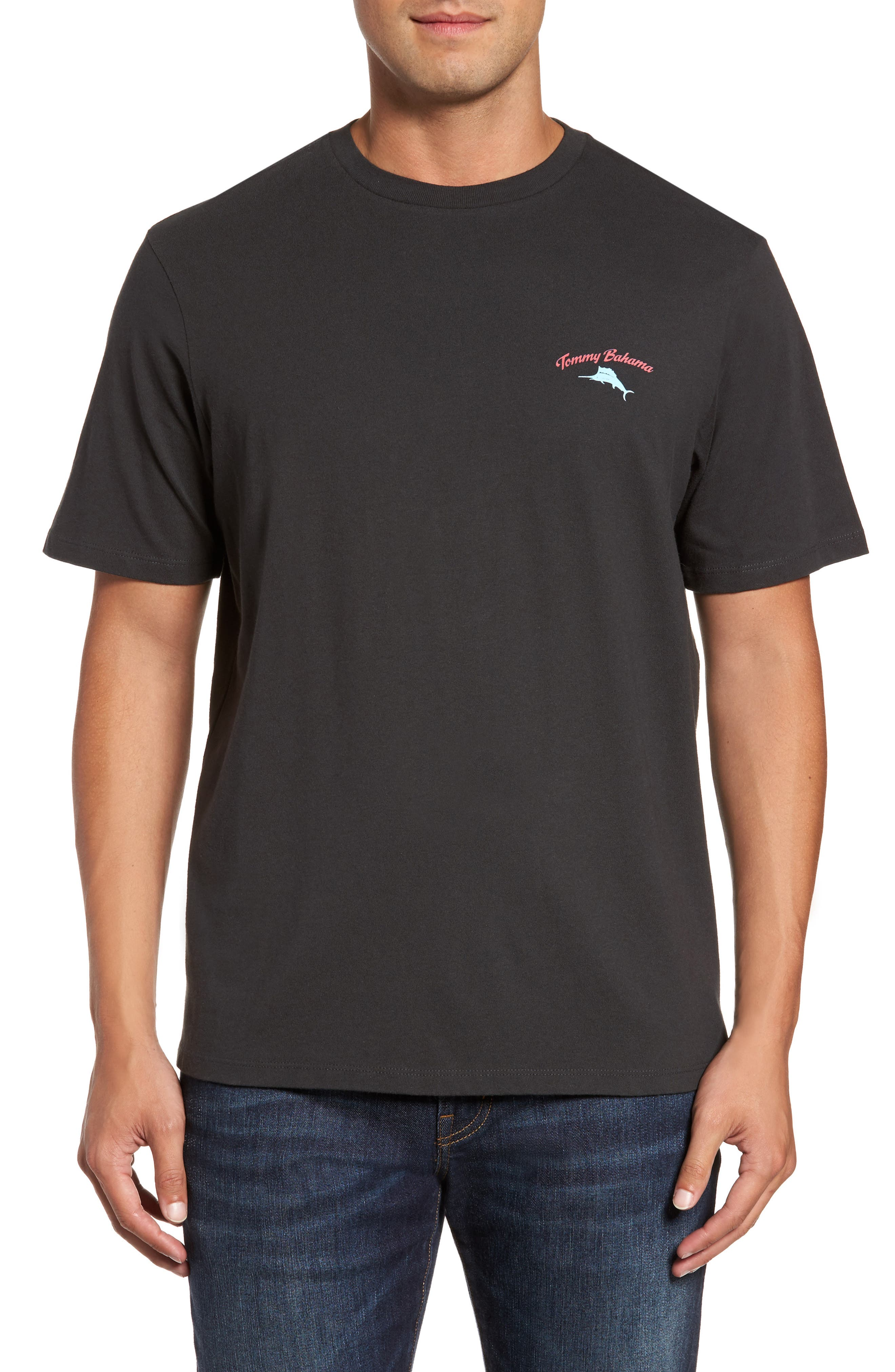 First and Coal Standard Fit T-Shirt,                         Main,                         color, 001