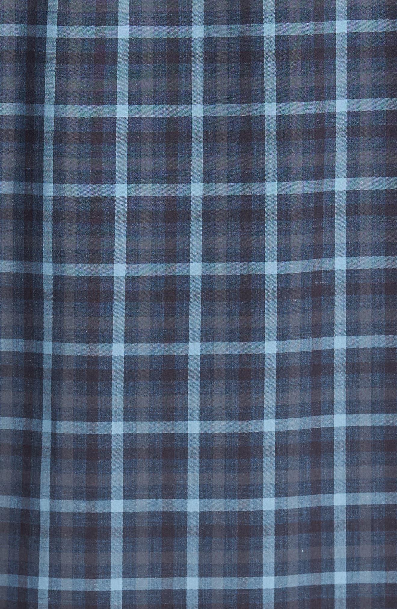 Lozado Check Sport Shirt,                             Alternate thumbnail 5, color,                             400