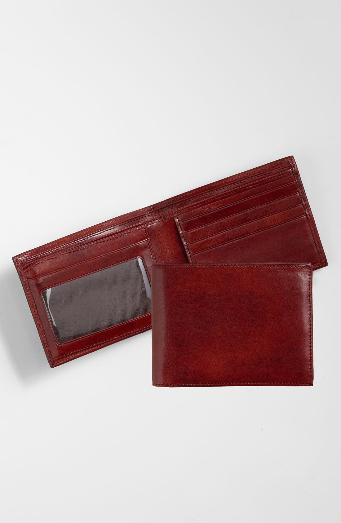 ID Flap Leather Wallet,                             Main thumbnail 4, color,