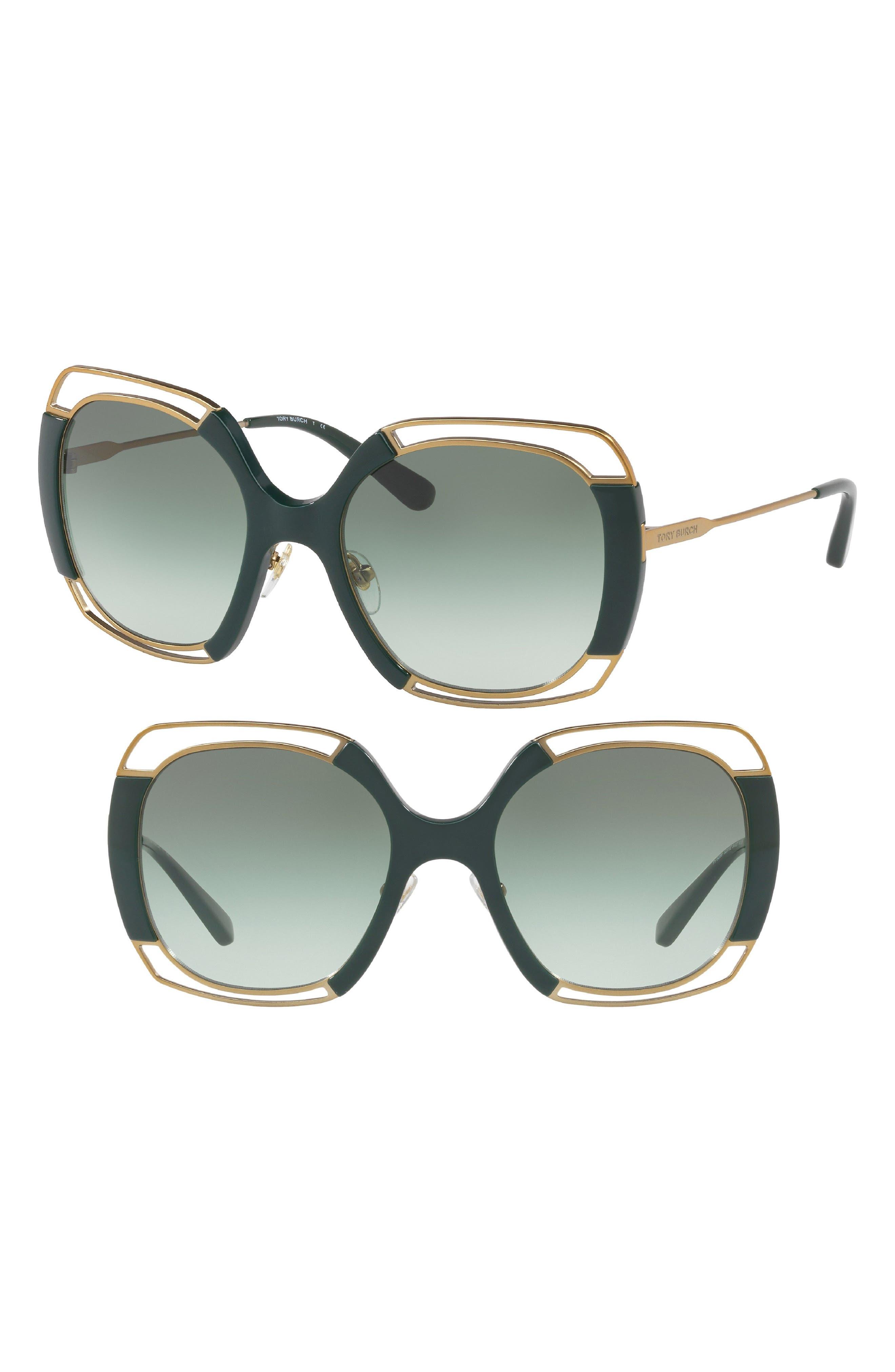 54mm Square Gradient Sunglasses,                             Main thumbnail 4, color,