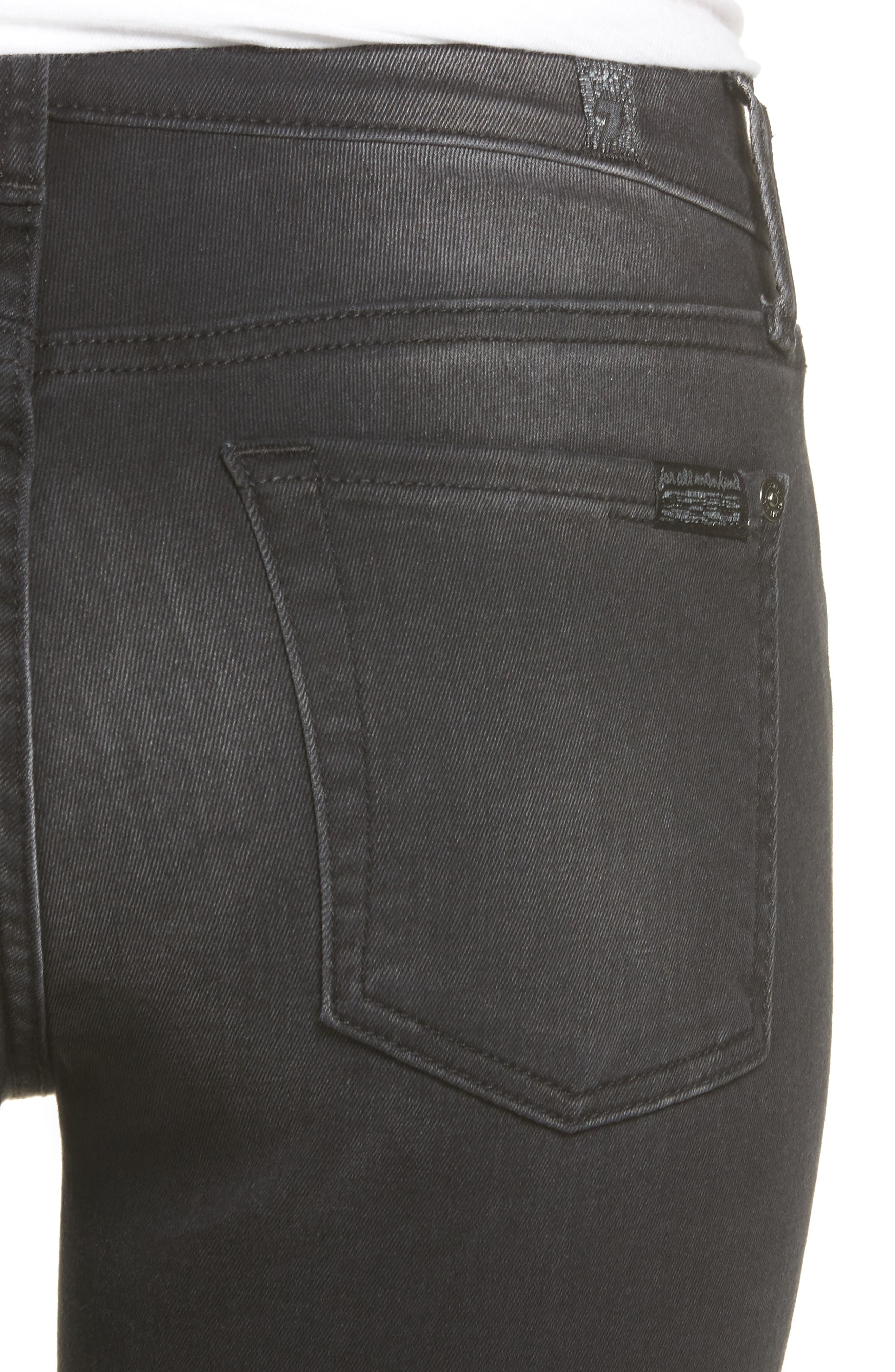 Seven7 The Ankle Skinny Jeans,                             Alternate thumbnail 4, color,                             004