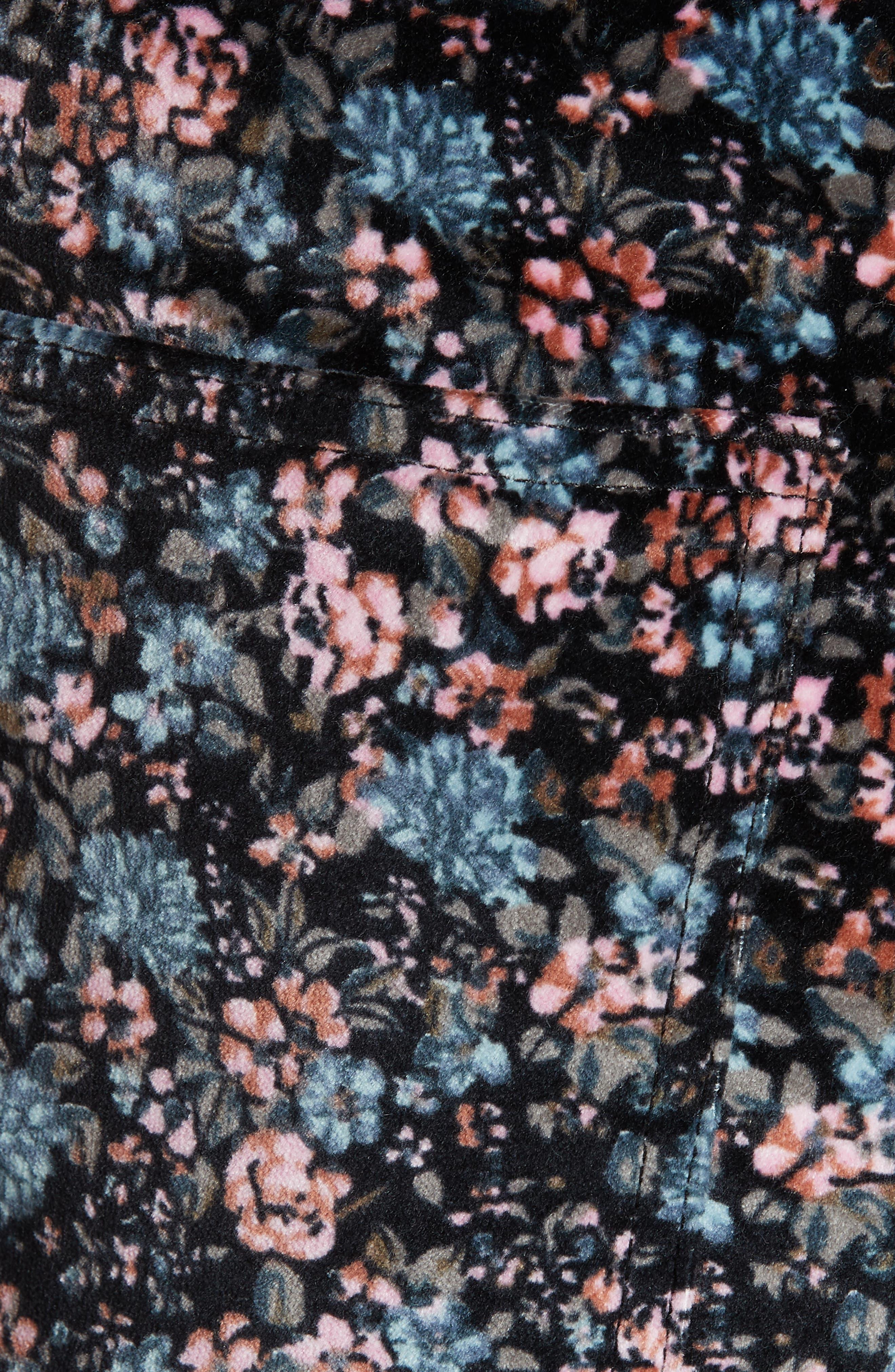 Lisette Velveteen Pants,                             Alternate thumbnail 5, color,                             014