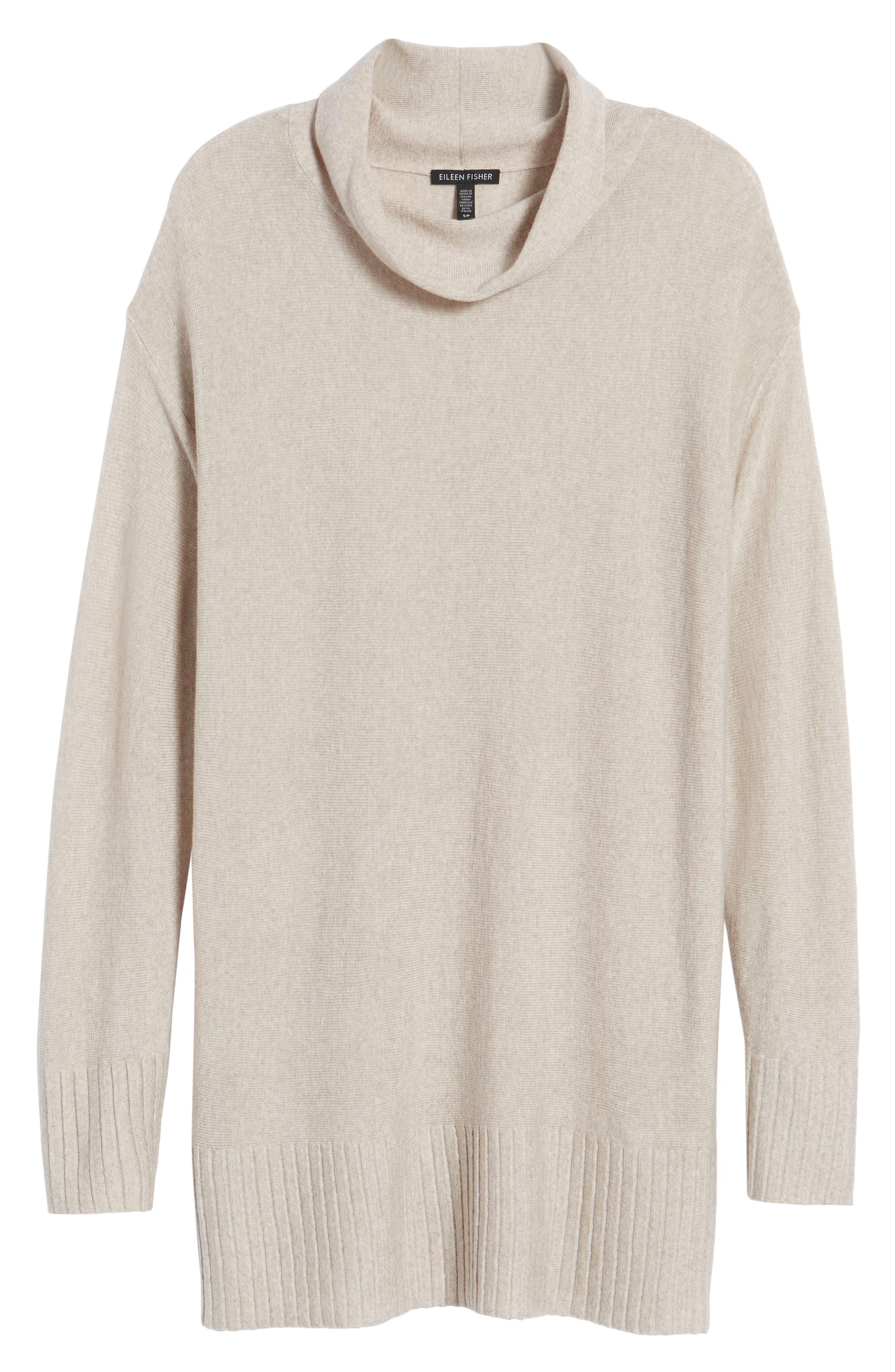 Merino Wool Tunic Sweater,                             Alternate thumbnail 13, color,
