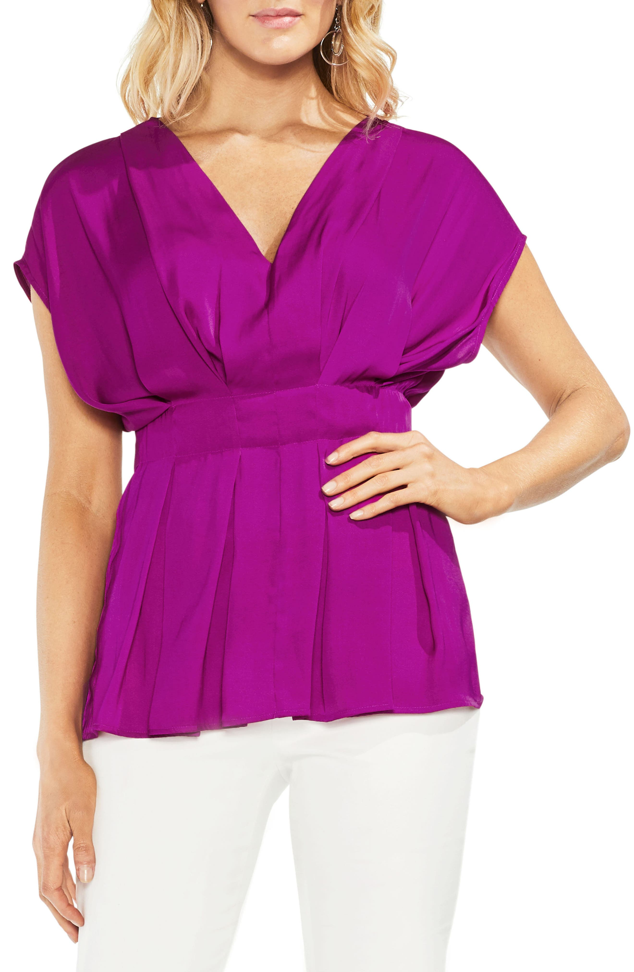 Cinched Waist Top,                             Main thumbnail 2, color,
