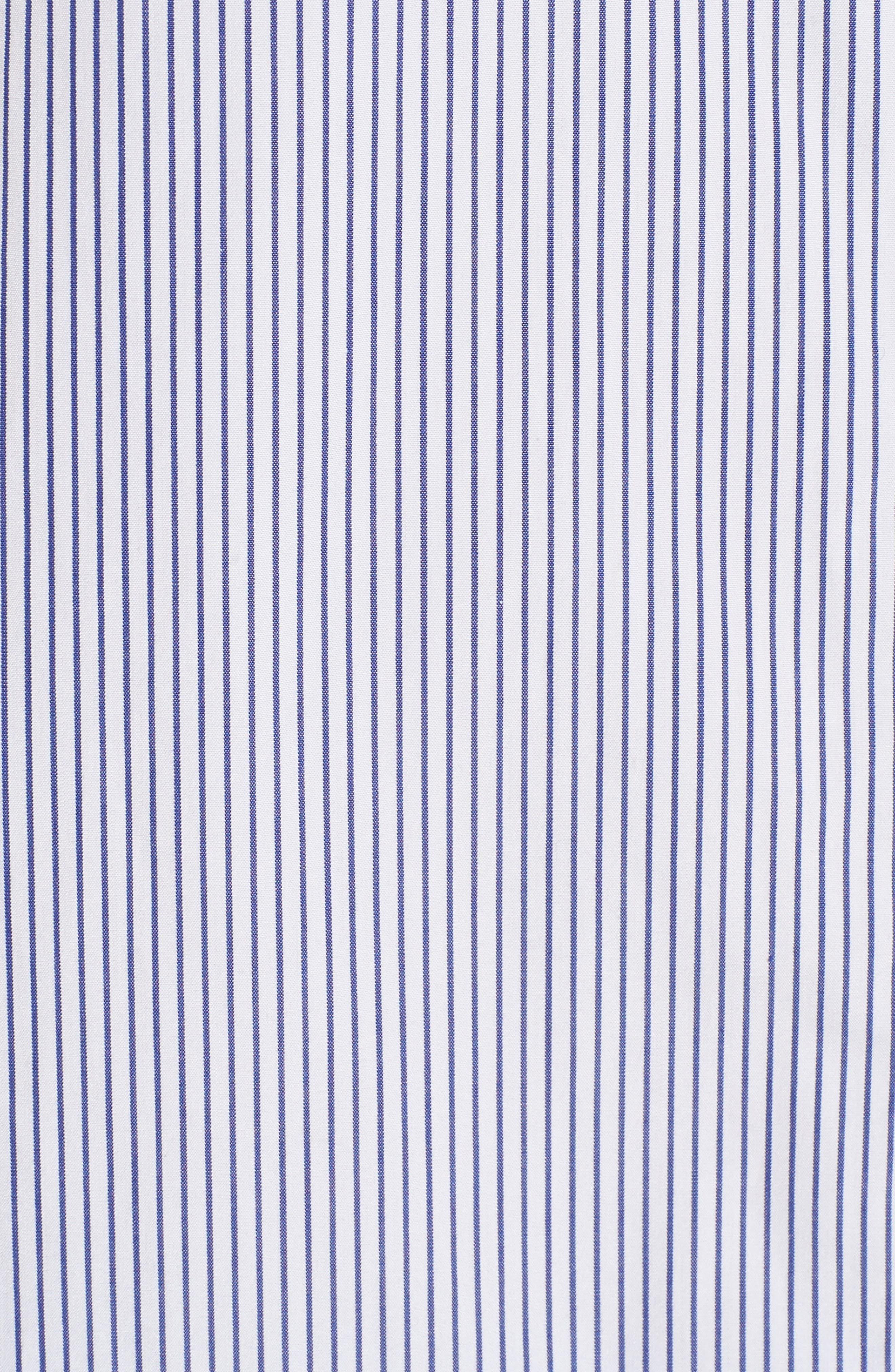 Ruffle Stripe Shirt,                             Alternate thumbnail 5, color,