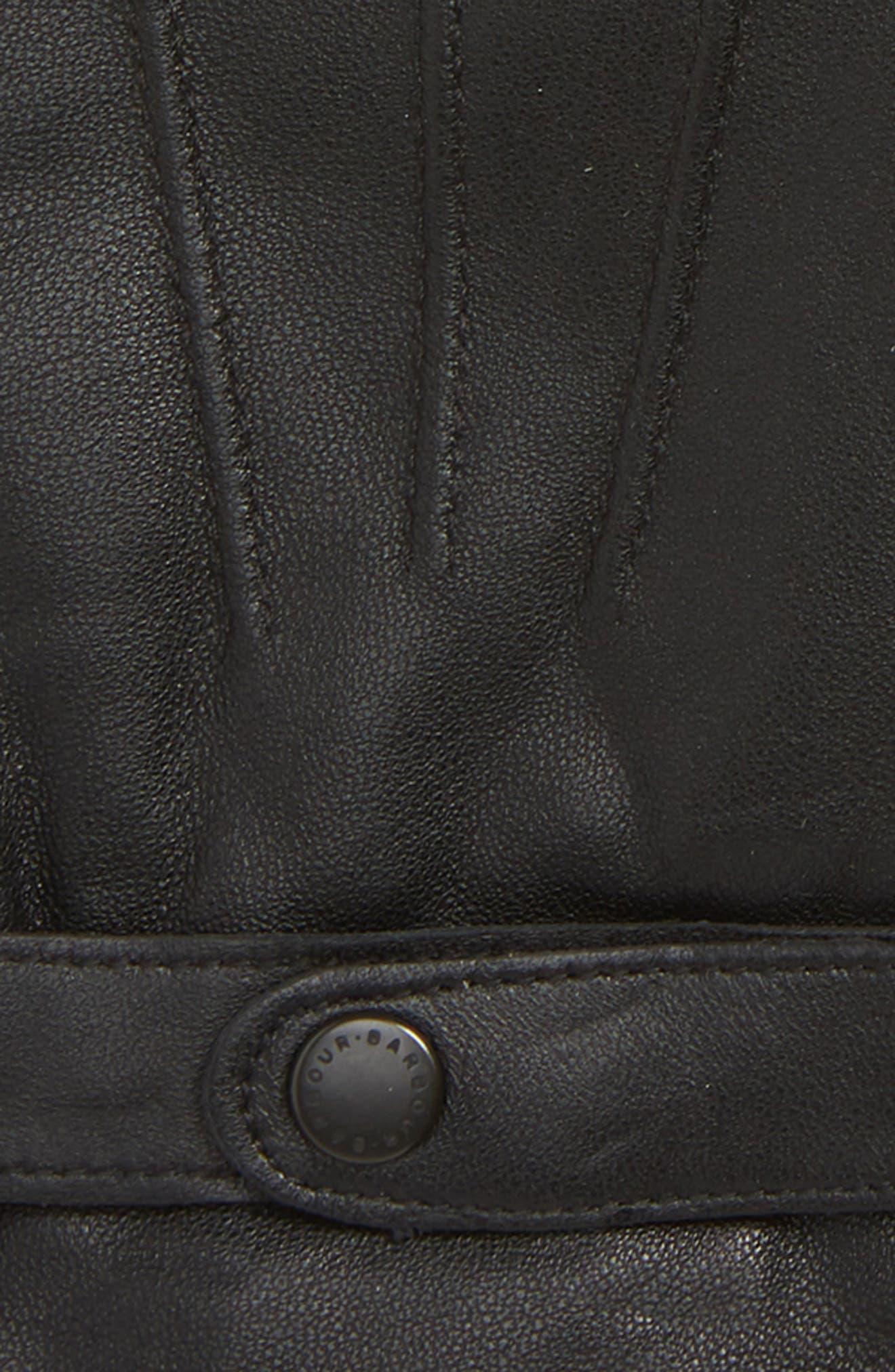 Burnished Leather Gloves,                             Alternate thumbnail 2, color,                             001